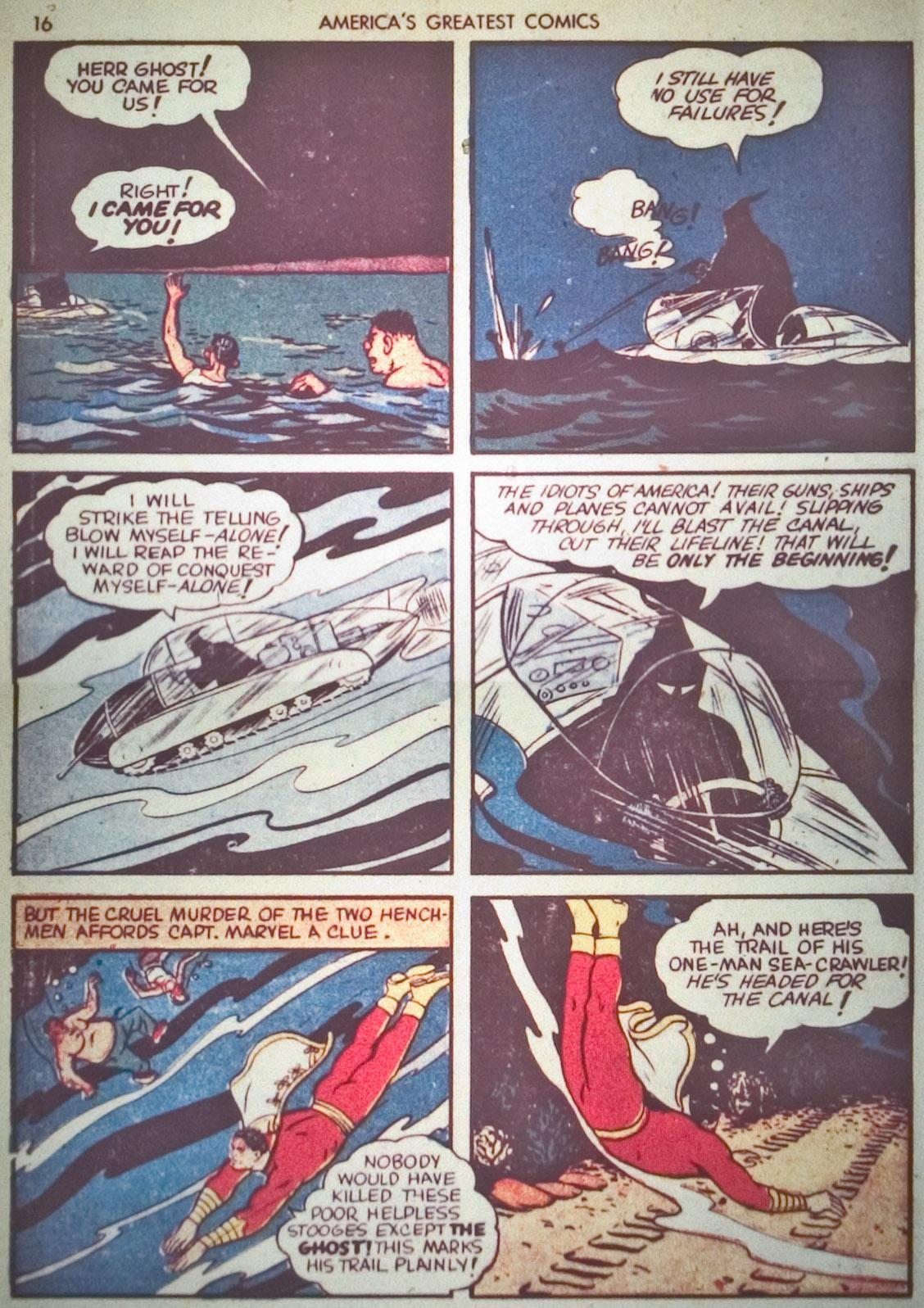Read online America's Greatest Comics comic -  Issue #1 - 19
