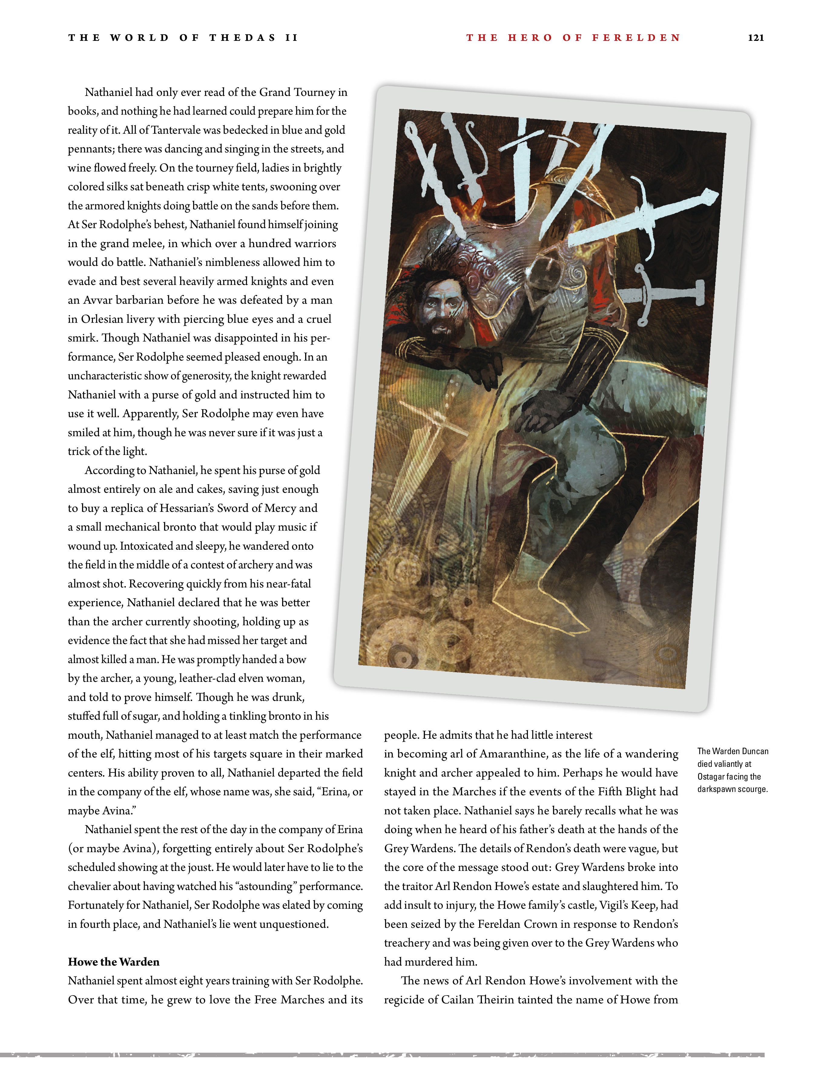 Read online Dragon Age: The World of Thedas comic -  Issue # TPB 2 - 117