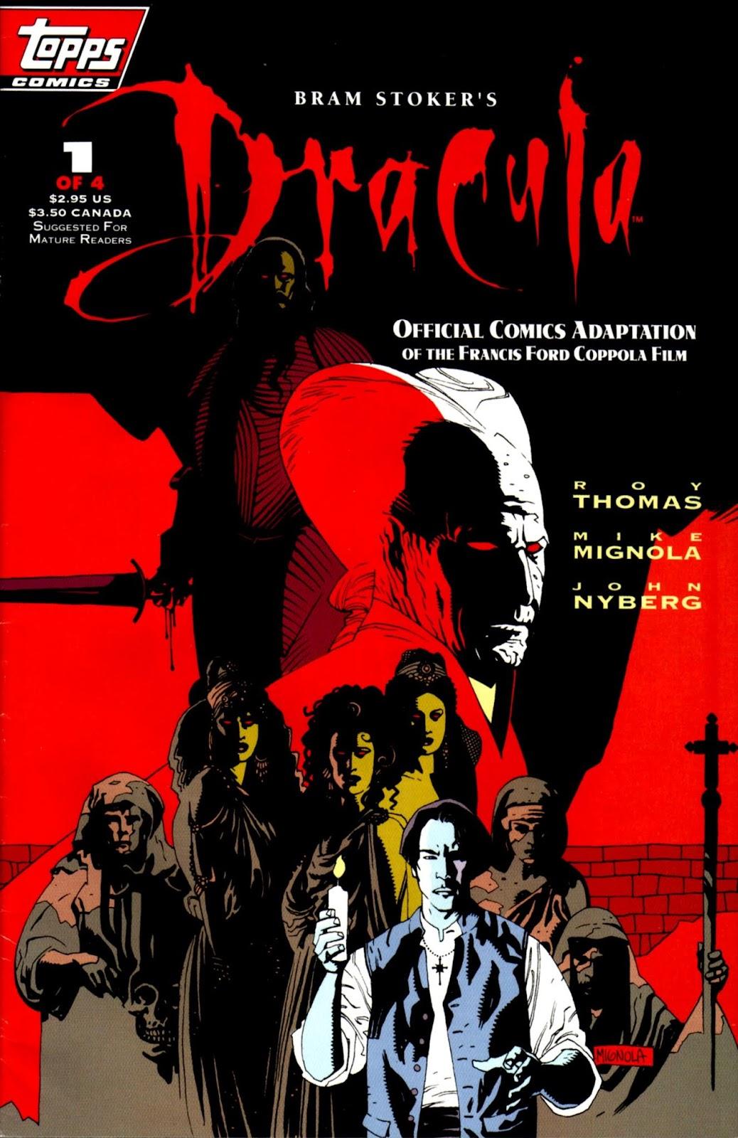 Bram Stokers Dracula 1 Page 1