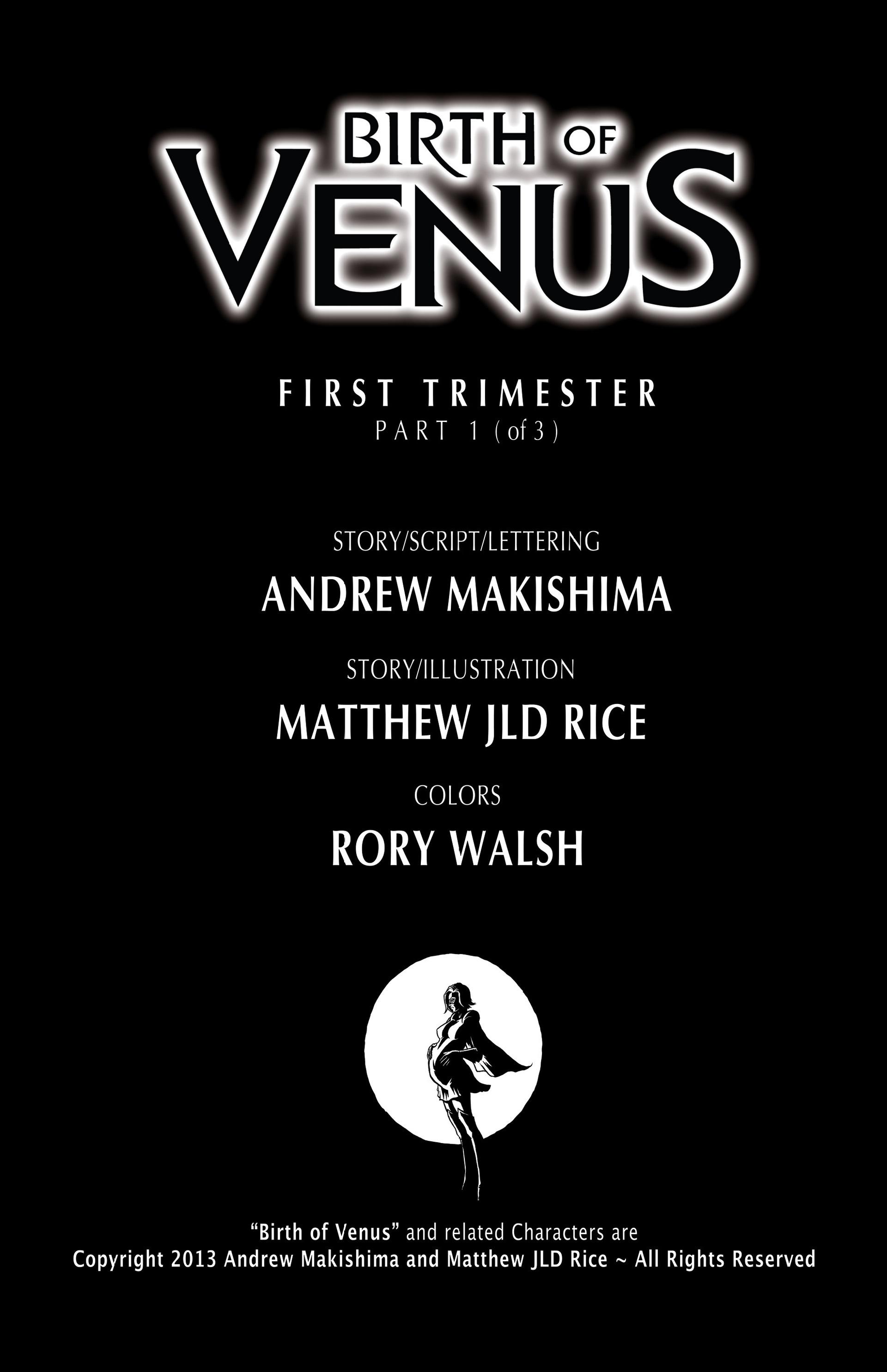 Read online Birth of Venus comic -  Issue #1 - 2