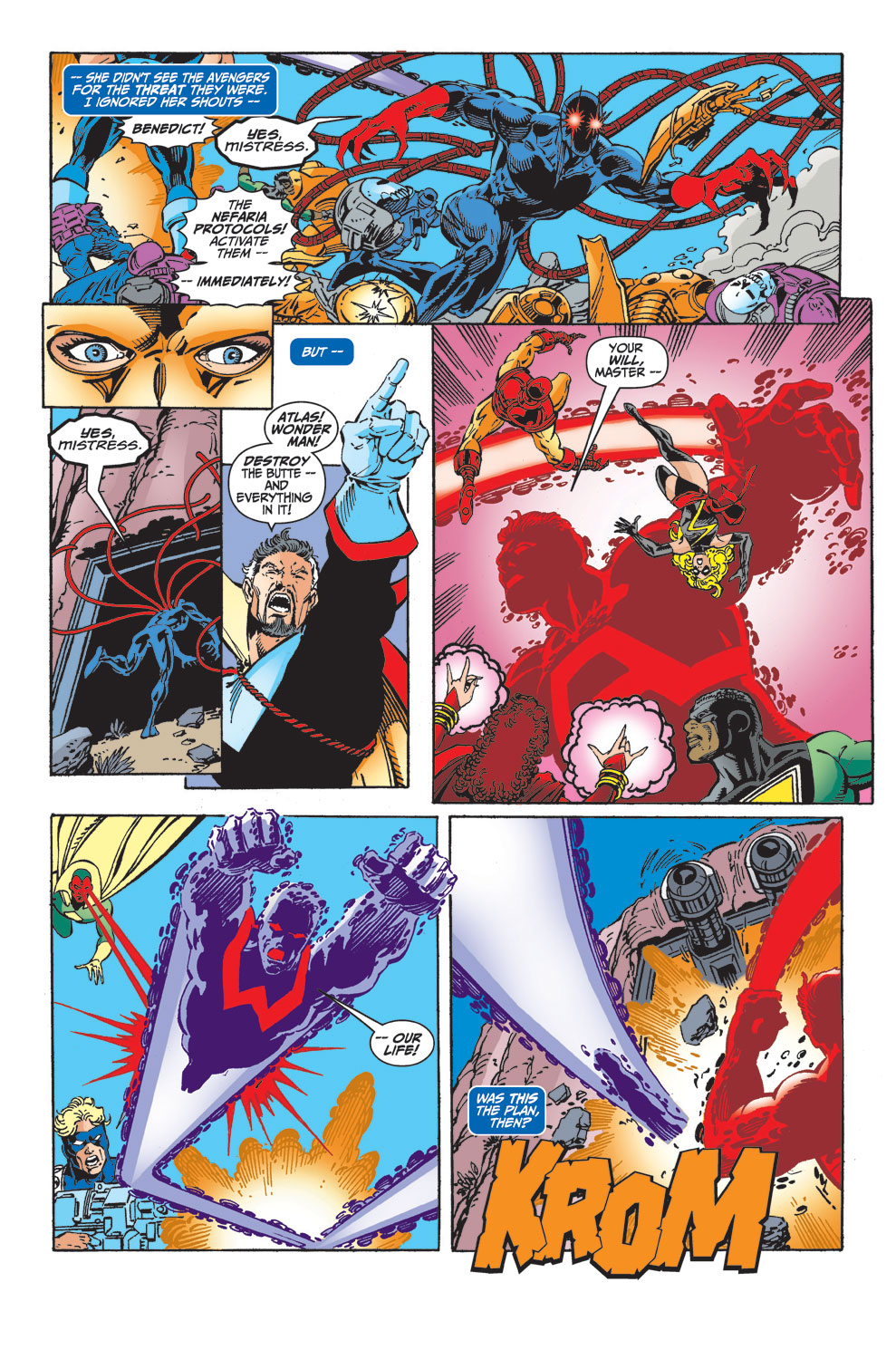 Read online Avengers (1998) comic -  Issue #33 - 10
