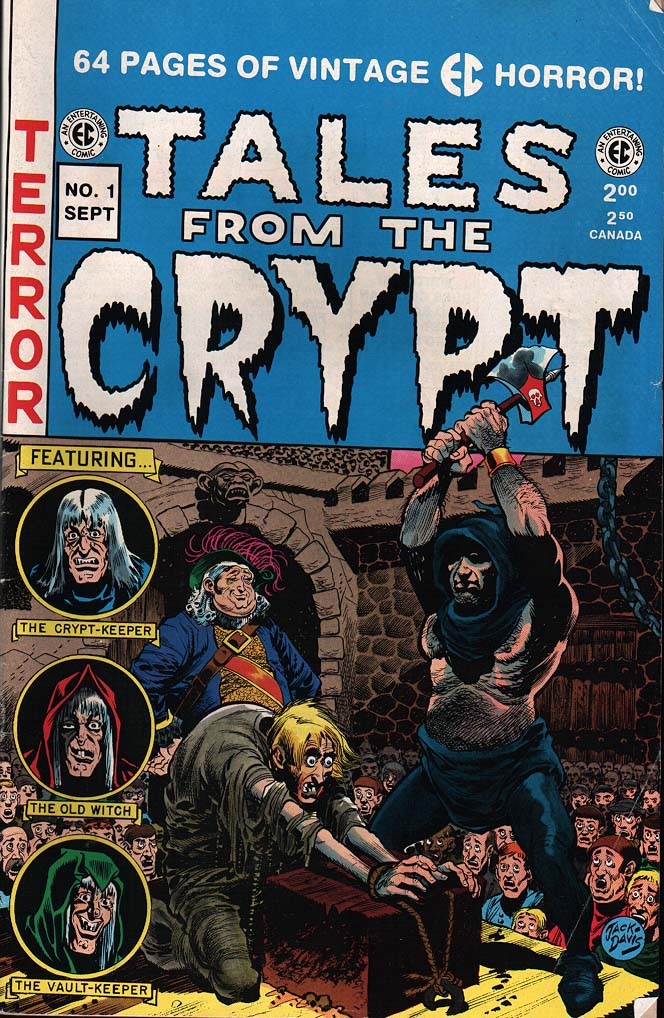 Tales From The Crypt (1950) issue 31 - Page 1
