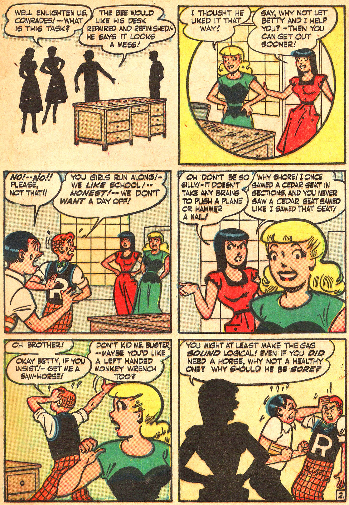 Read online Archie's Girls Betty and Veronica comic -  Issue #Archie's Girls Betty and Veronica Annual 1 - 31