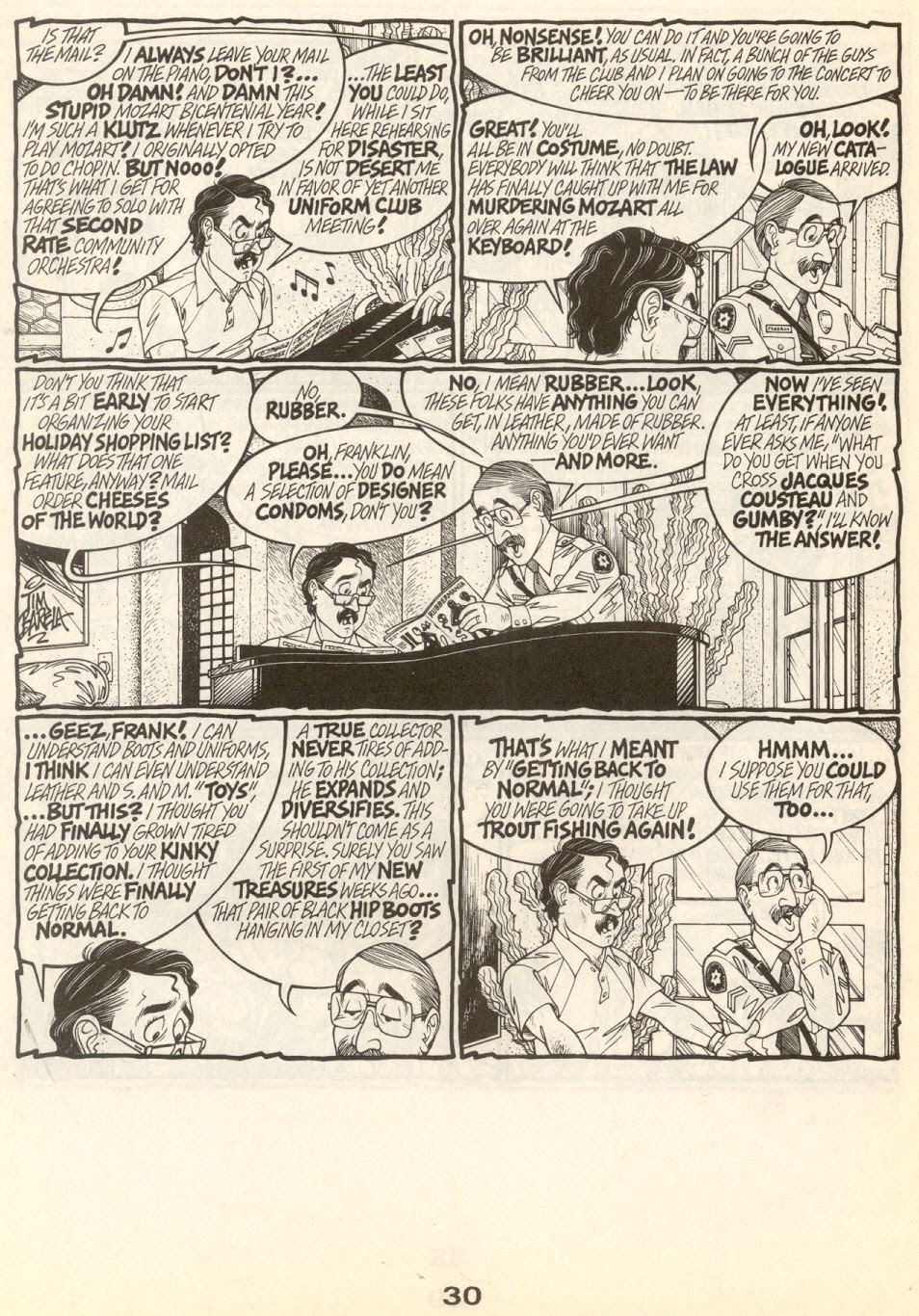 Gay Comix (Gay Comics) issue _Special_1 - Page 33