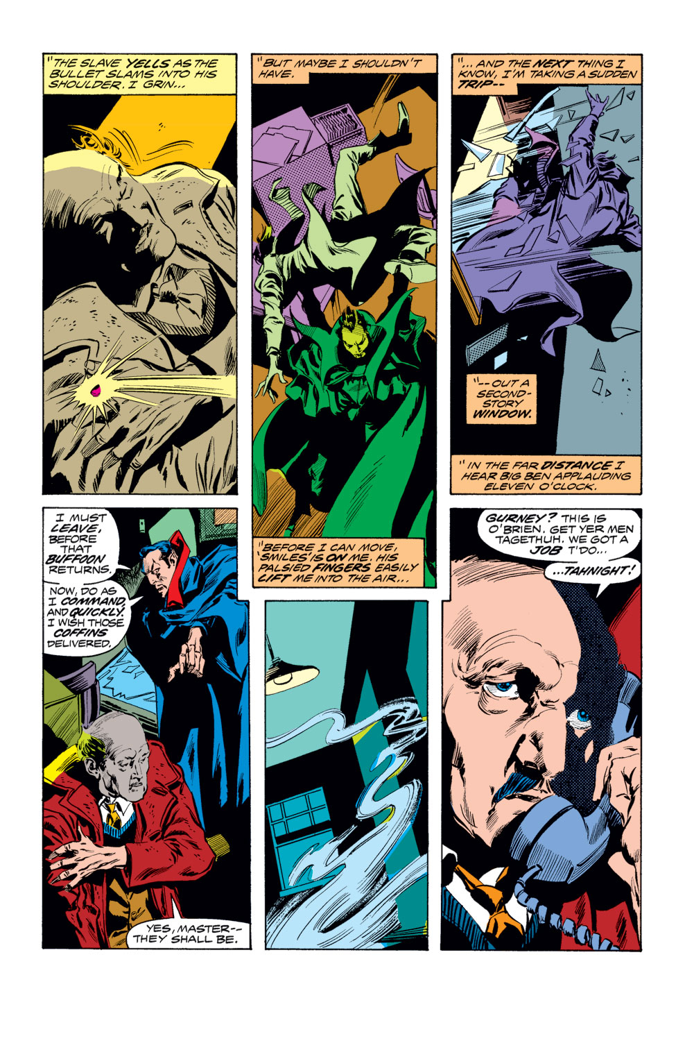 Tomb of Dracula (1972) issue 25 - Page 12