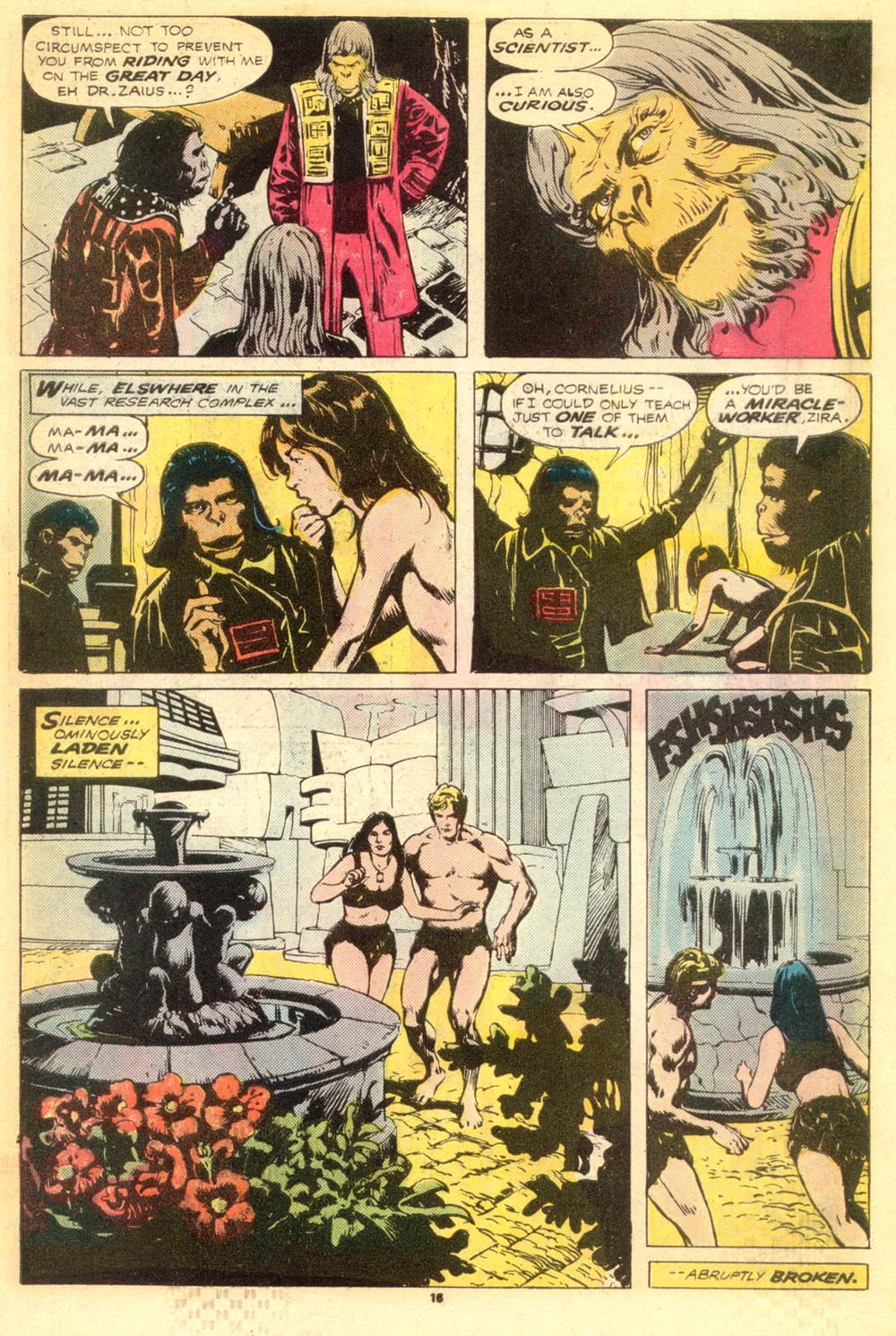 Read online Adventures on the Planet of the Apes comic -  Issue #9 - 11