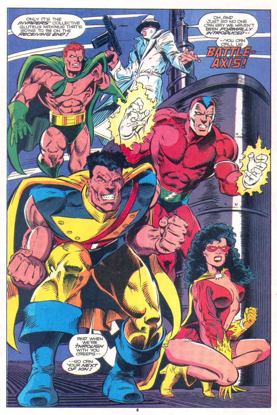 Read online The Invaders (1993) comic -  Issue #1 - 8