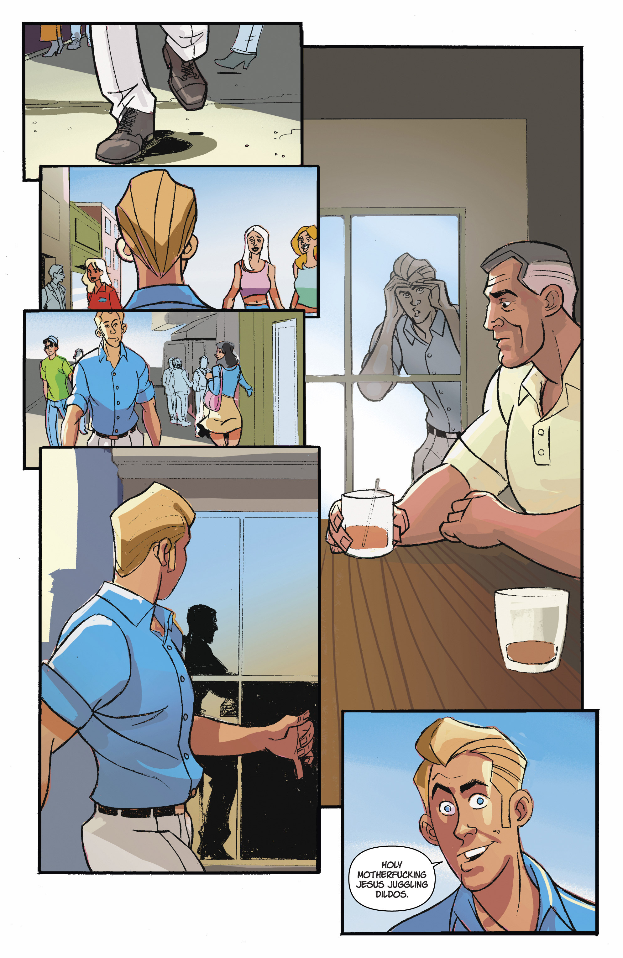 Read online A Train Called Love comic -  Issue #3 - 3