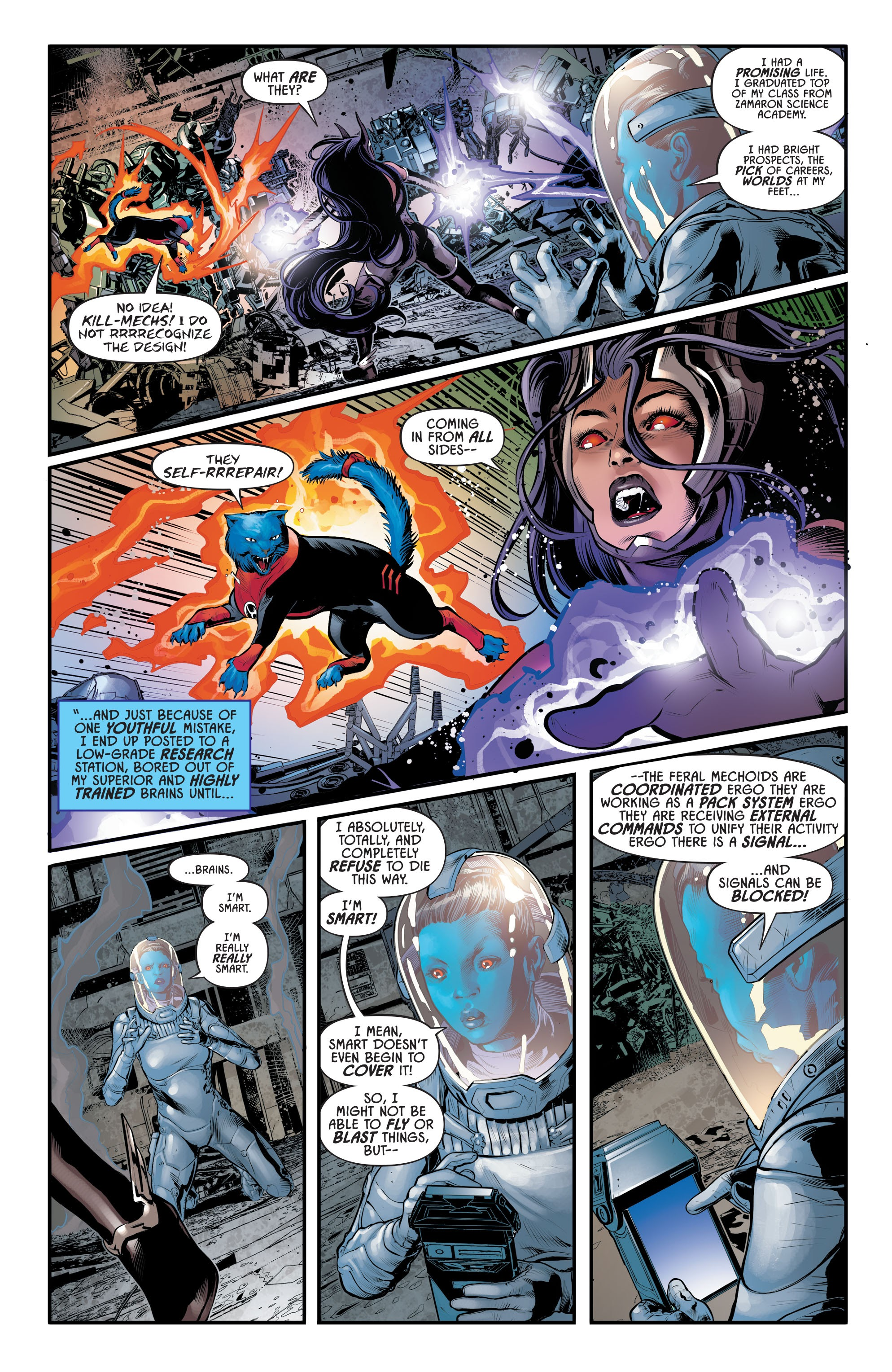 Justice League Odyssey #17 #17 - English 8