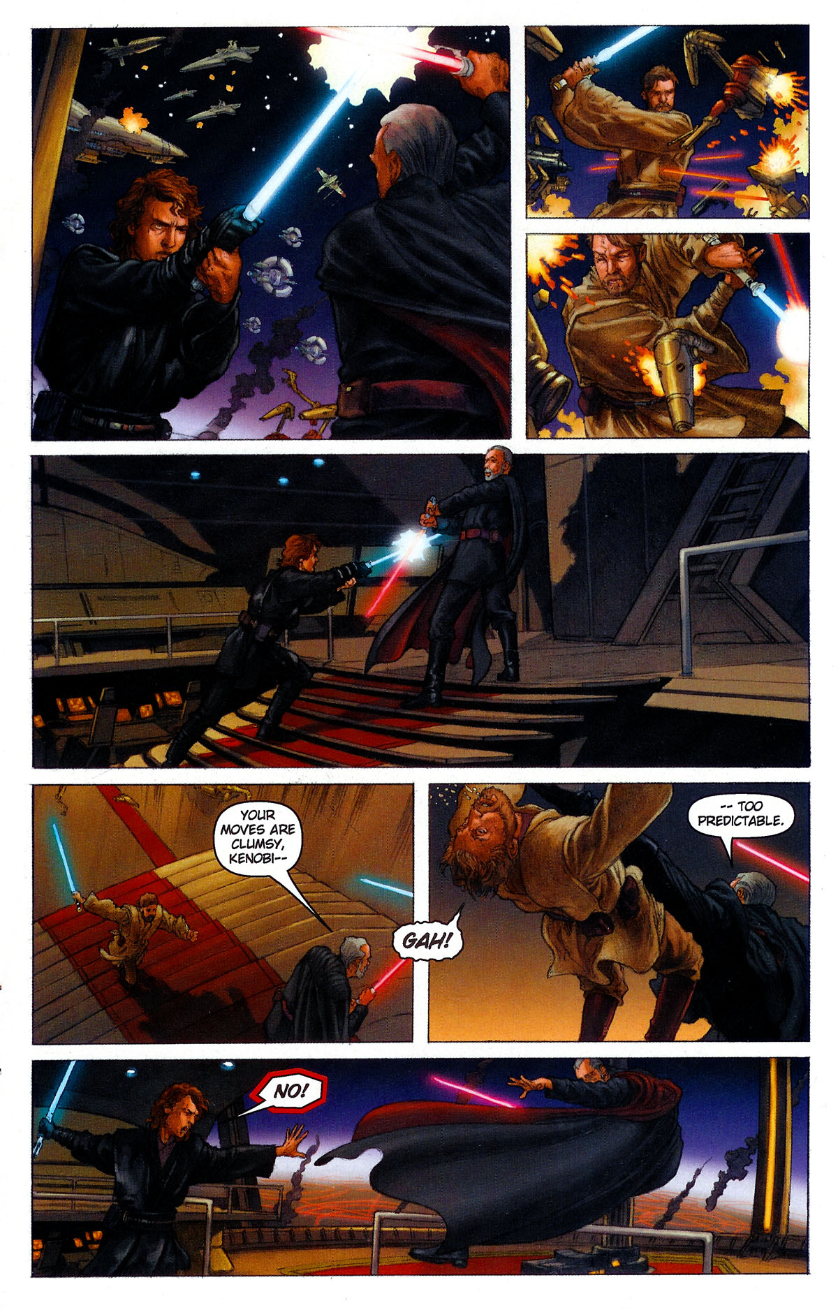 Read Online Star Wars Episode Iii Revenge Of The Sith Comic Issue 1