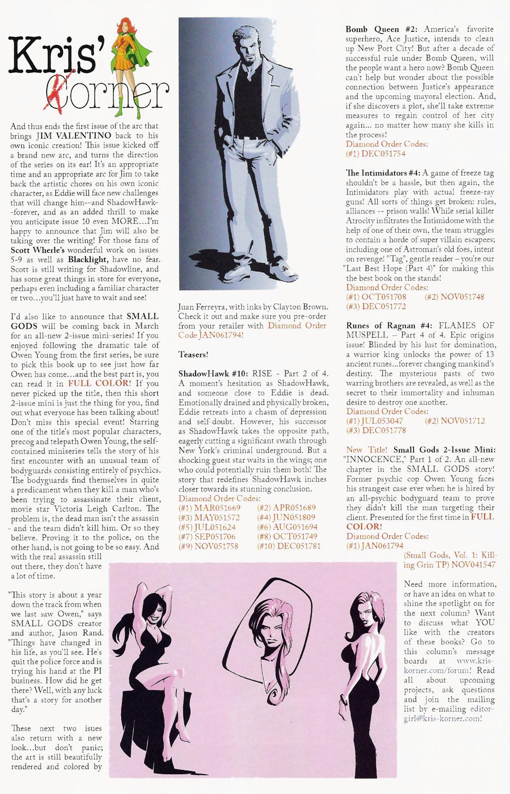 Read online ShadowHawk (2005) comic -  Issue #9 - 27