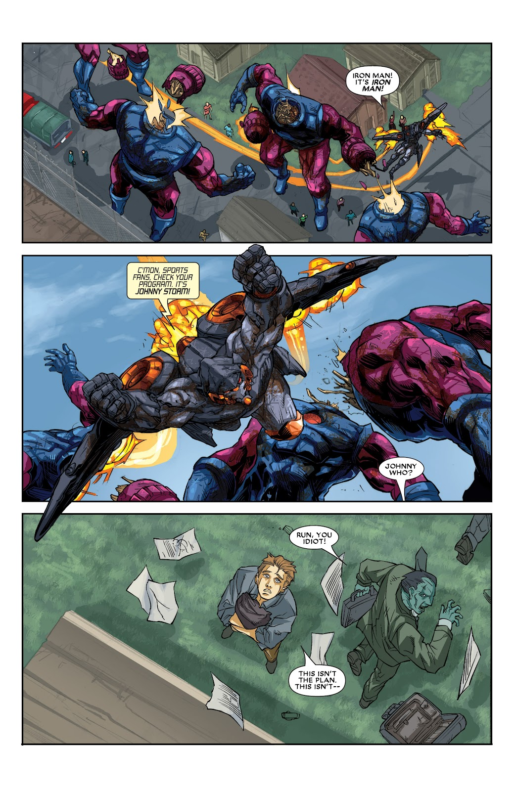 Iron Man: House of M Issue #2 #2 - English 18