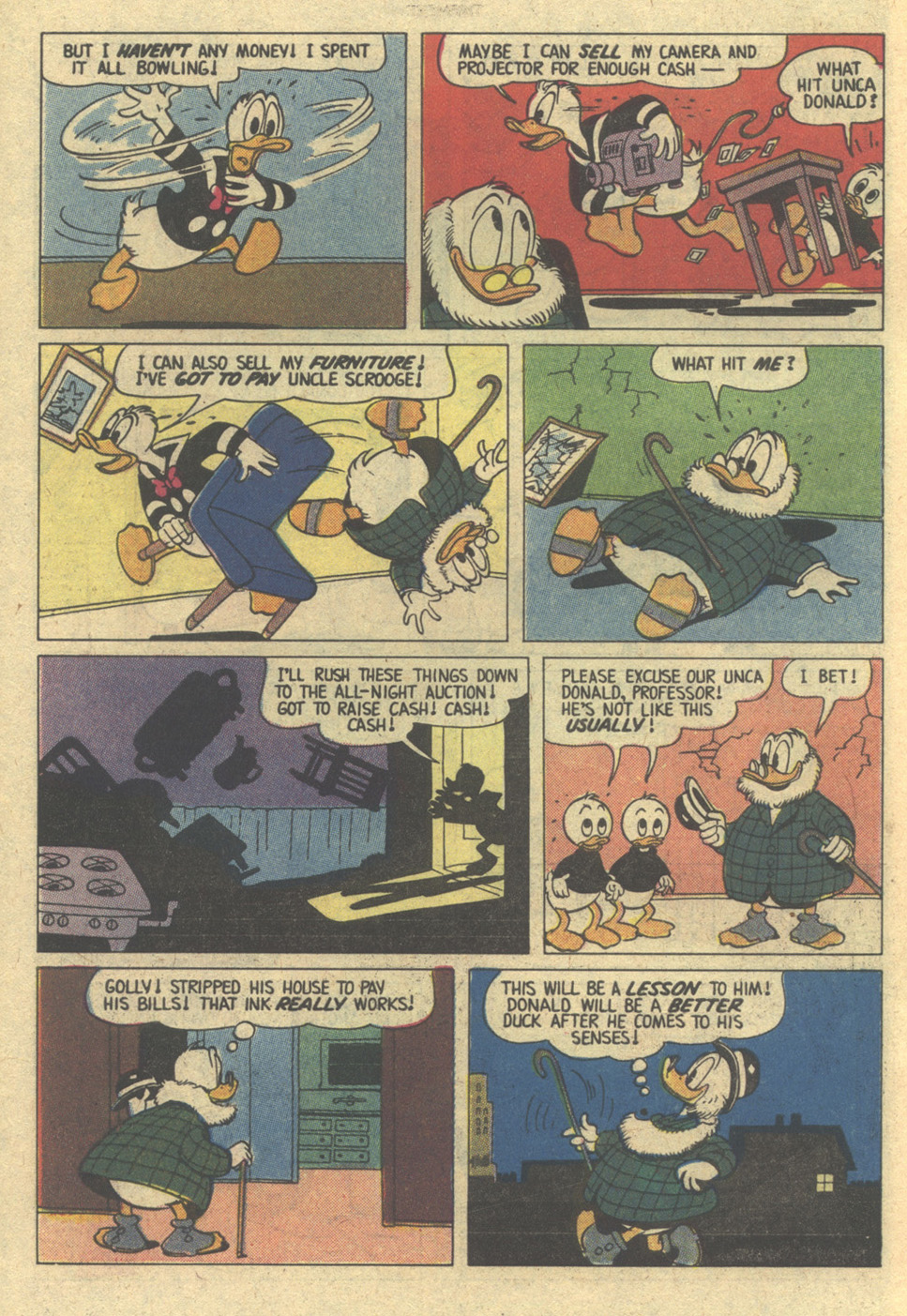 Read online Uncle Scrooge (1953) comic -  Issue #172 - 6