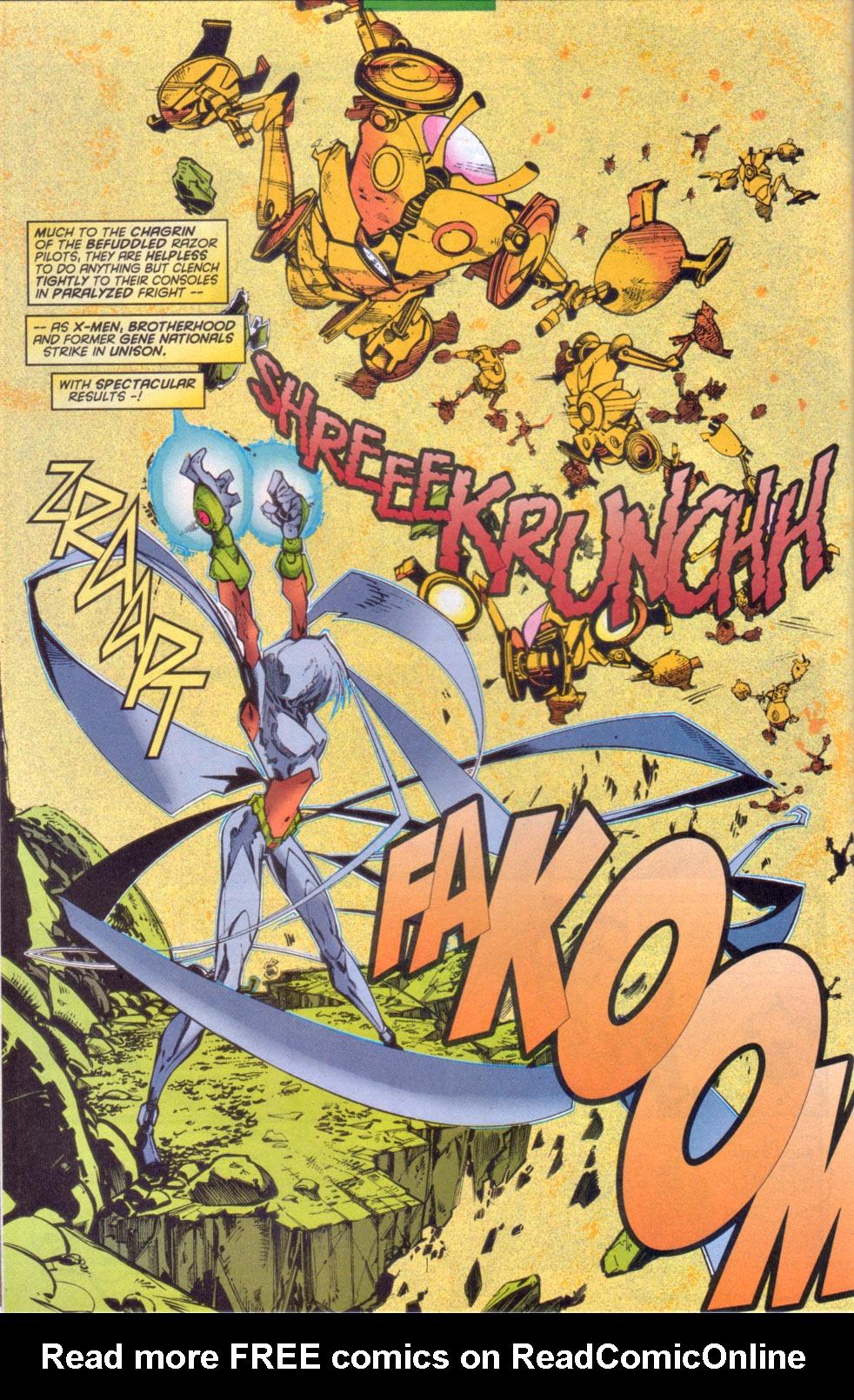 Read online Uncanny X-Men (1963) comic -  Issue # _Annual 1997 - 29