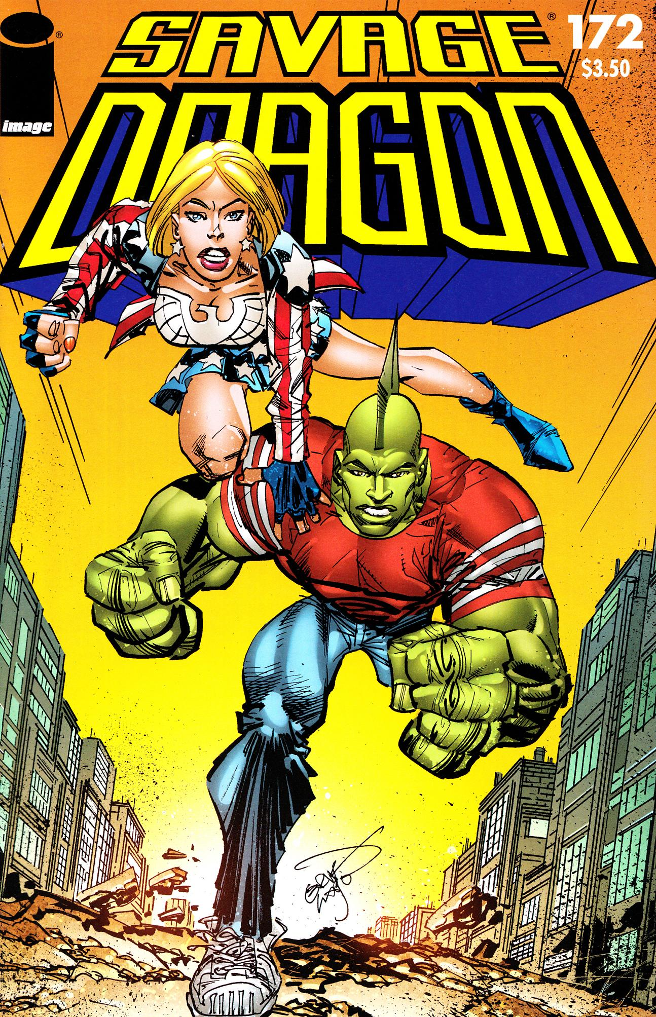The Savage Dragon (1993) 172 Page 1