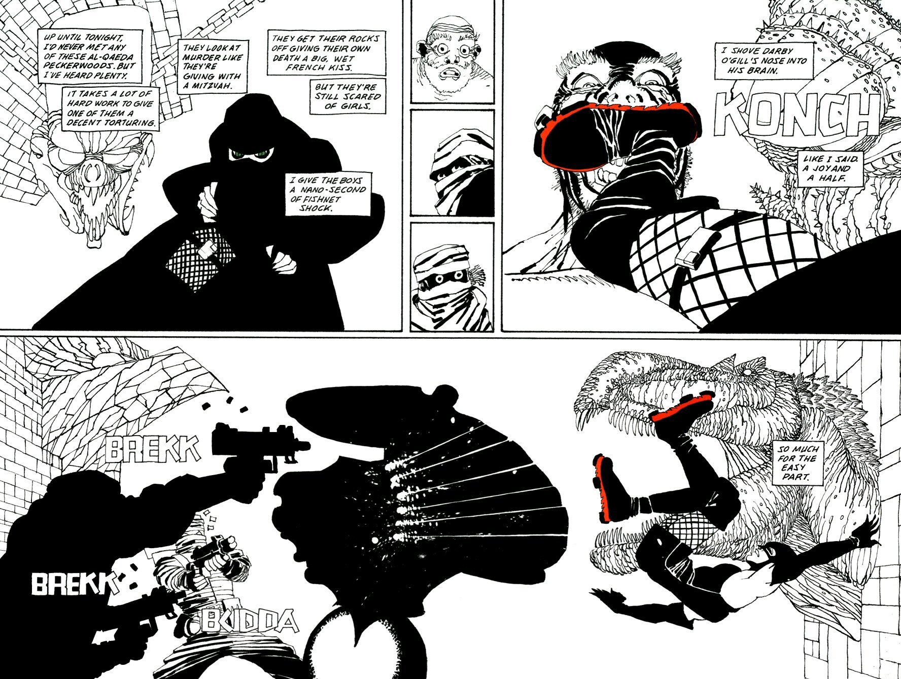 Read online Frank Miller's Holy Terror comic -  Issue # TPB - 104