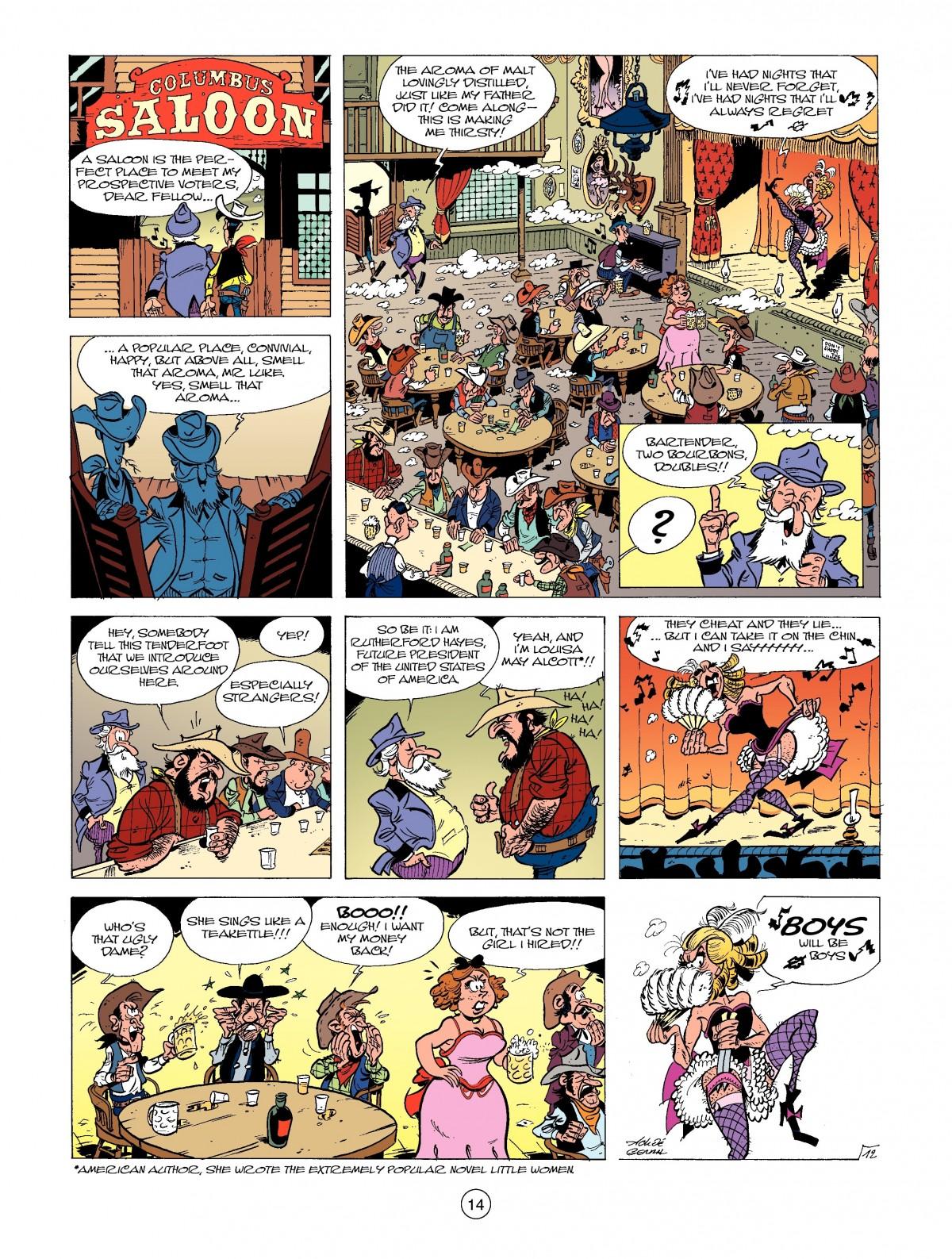 Read online A Lucky Luke Adventure comic -  Issue #39 - 14