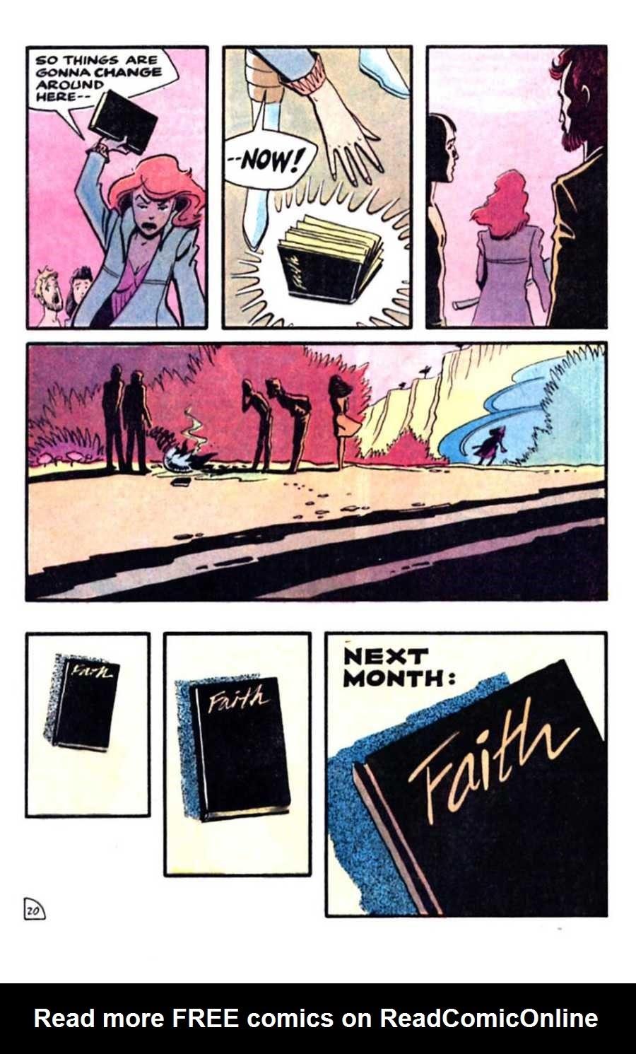 Read online Mars comic -  Issue #5 - 22