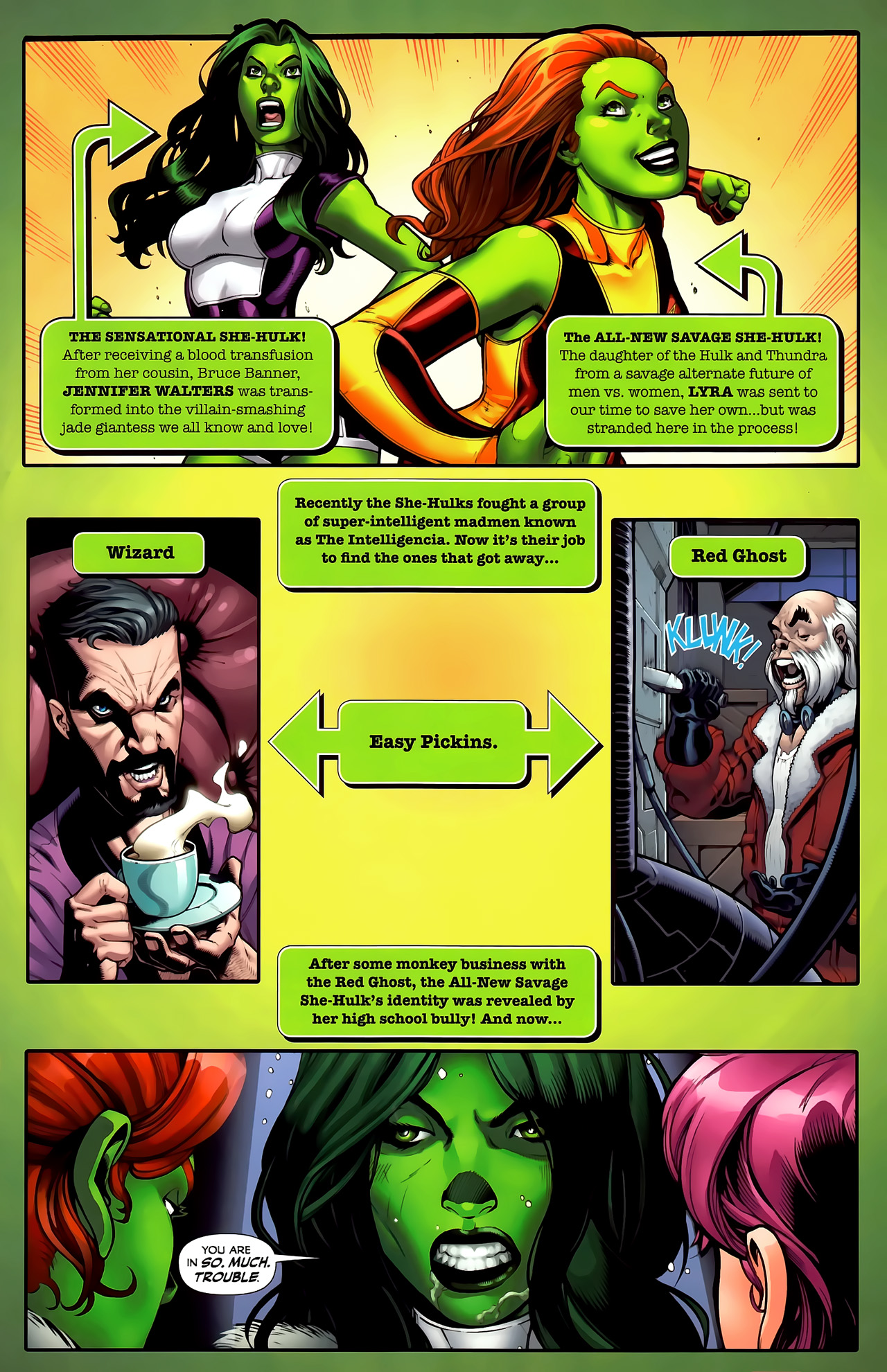 Read online She-Hulks comic -  Issue #3 - 2