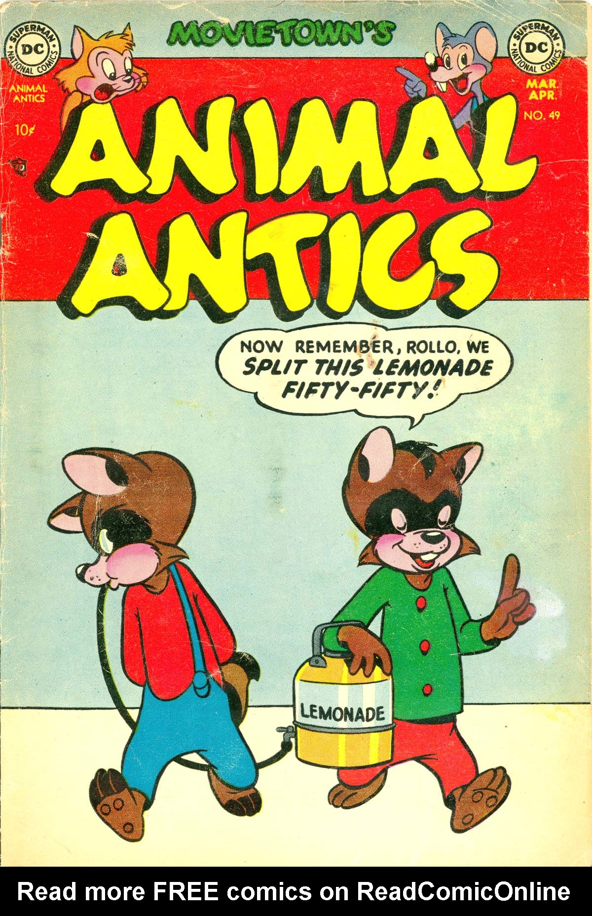 Read online Animal Antics comic -  Issue #49 - 1