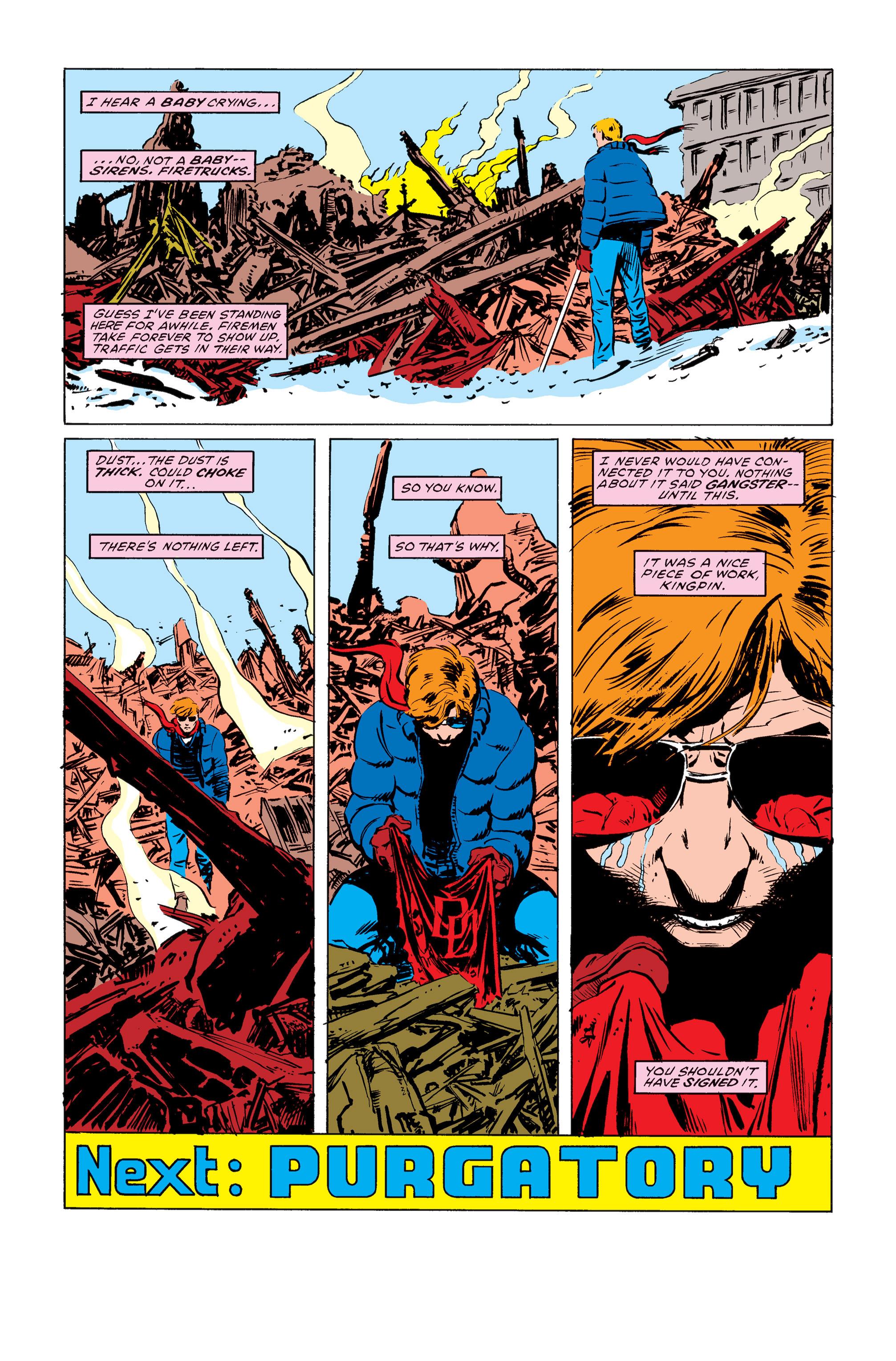 Read online Daredevil: Born Again comic -  Issue # Full - 52