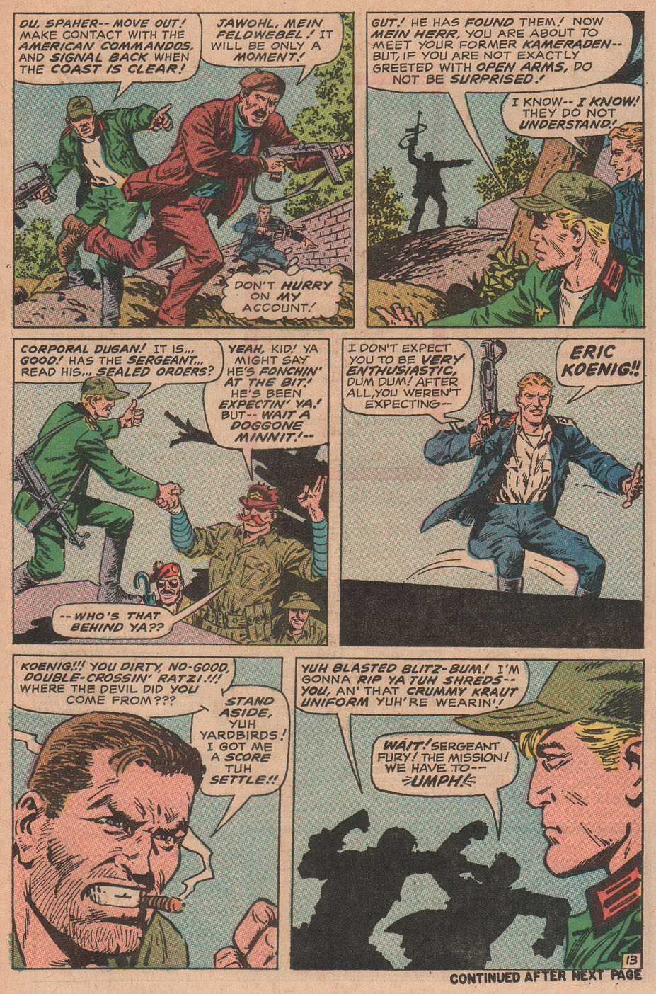 Read online Sgt. Fury comic -  Issue #78 - 21