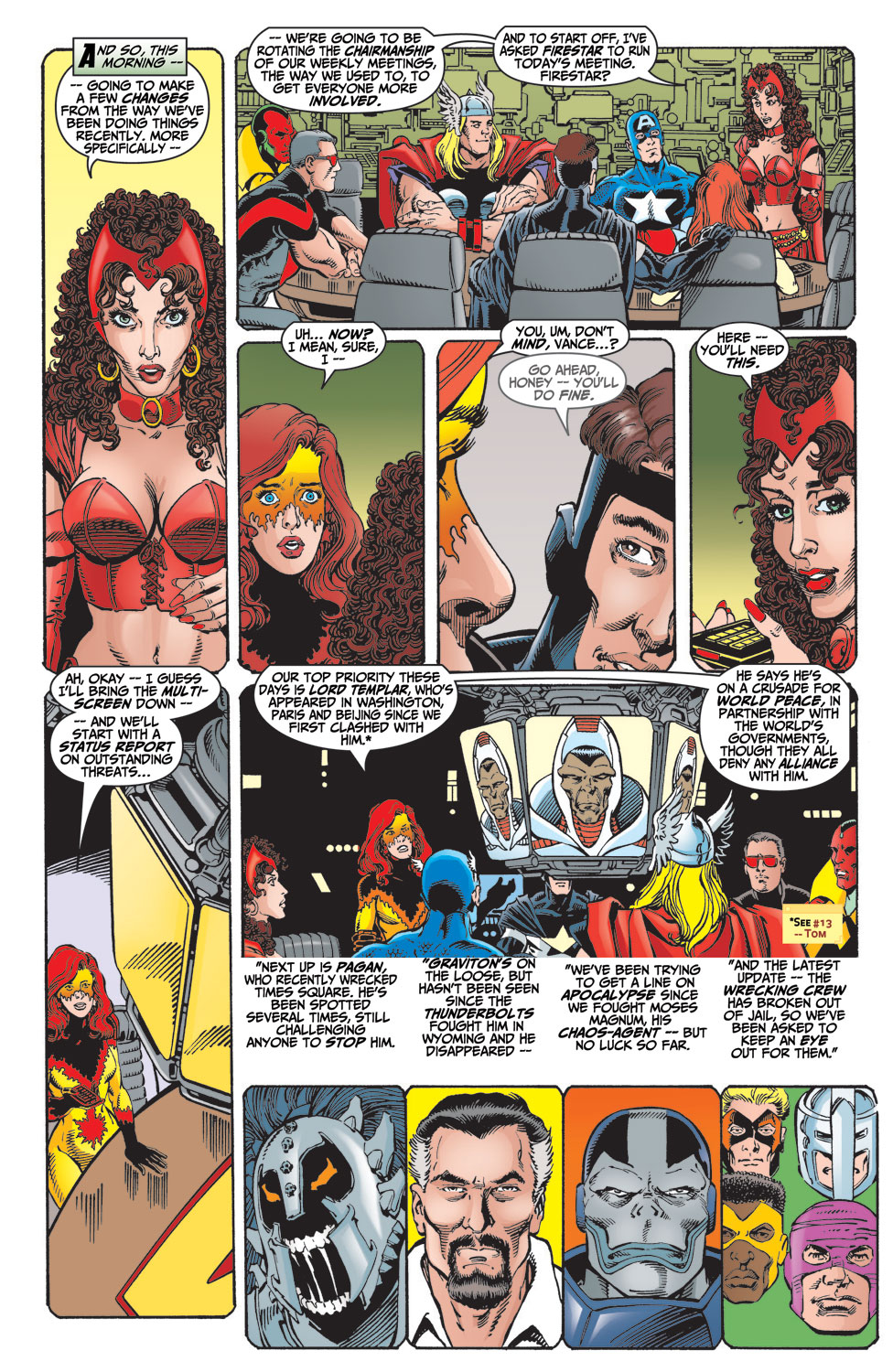 Read online Avengers (1998) comic -  Issue #15 - 7