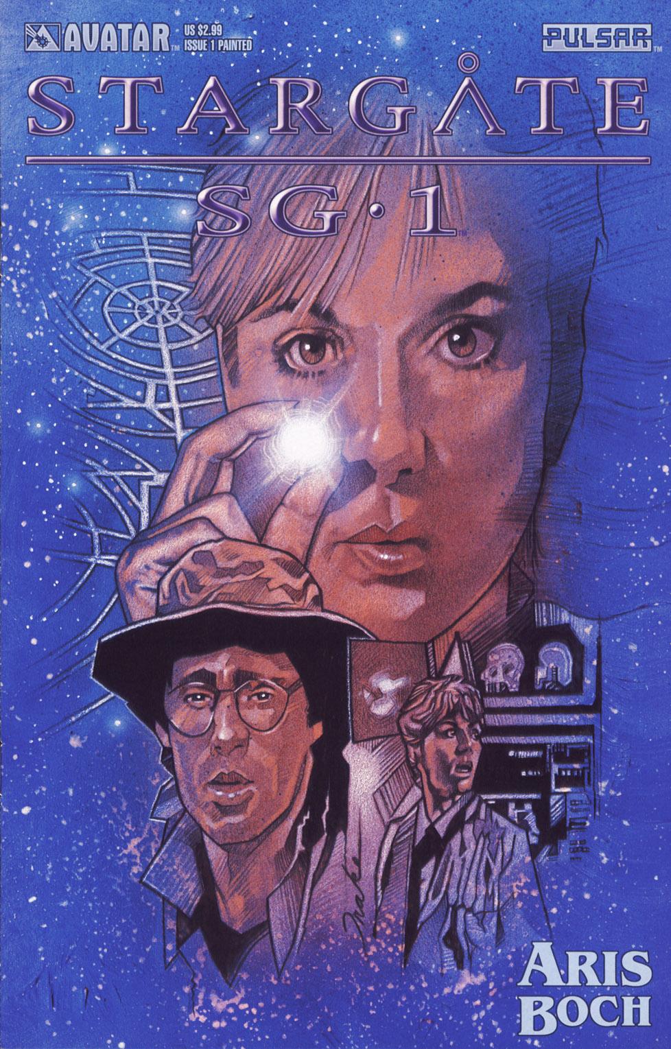 Stargate SG-1: Aris Boch Full Page 1