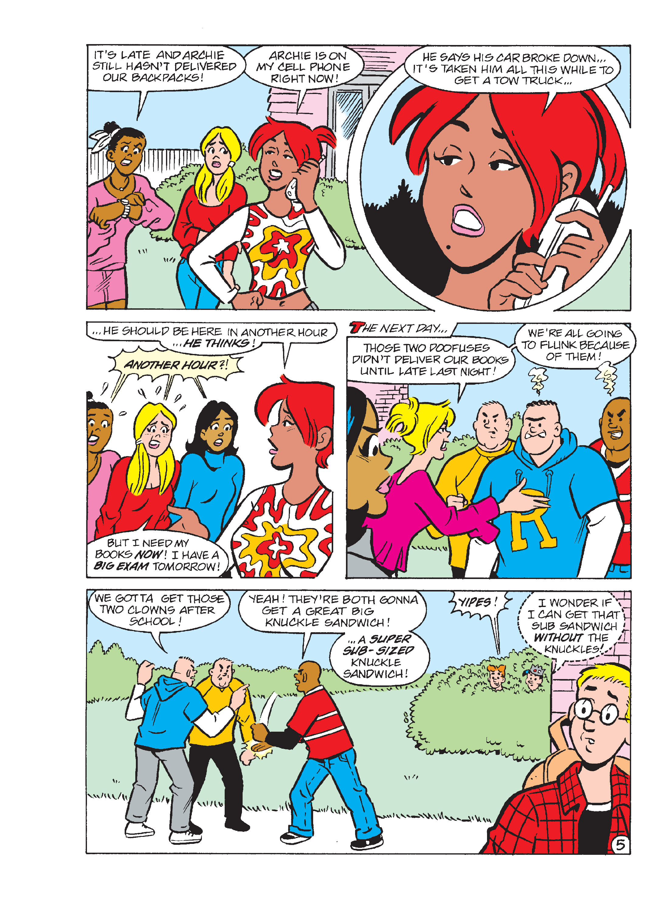 Read online Archie's Funhouse Double Digest comic -  Issue #17 - 12