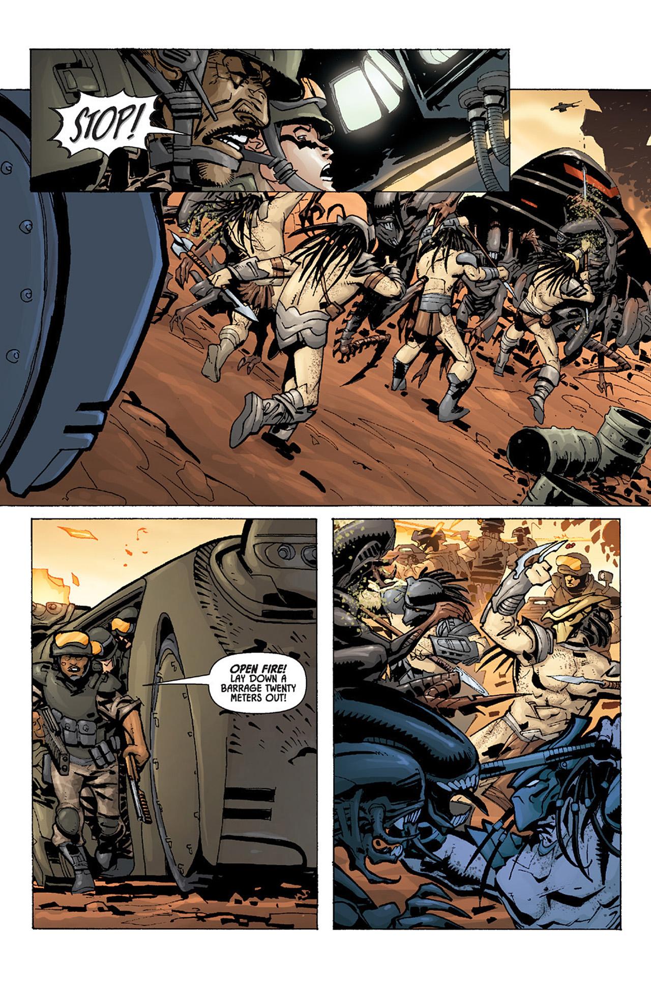 Read online Aliens vs. Predator: Three World War comic -  Issue #4 - 9