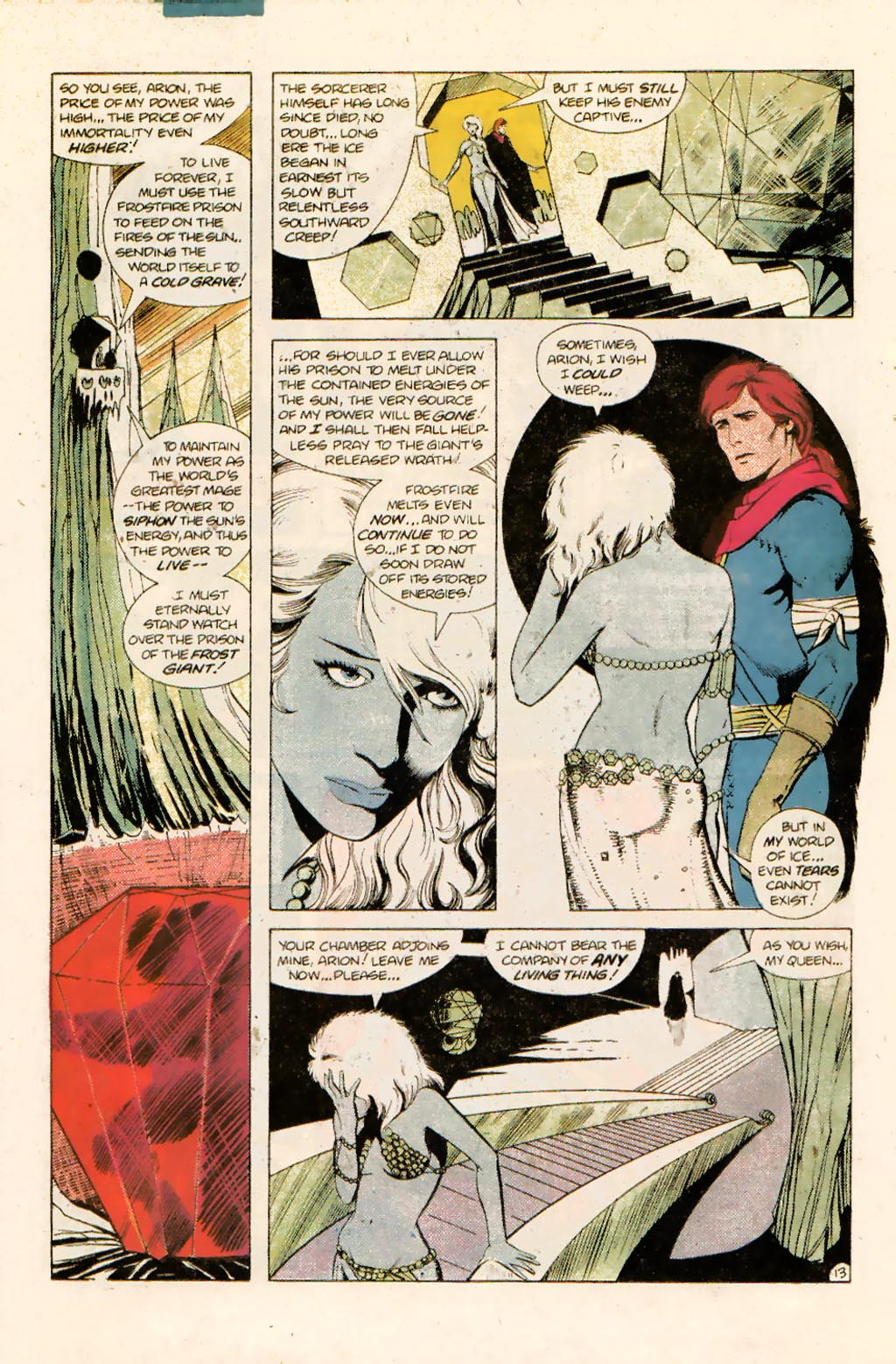 Read online Arion, Lord of Atlantis comic -  Issue #10 - 17