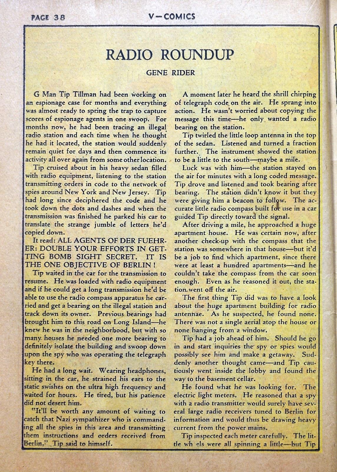 Read online V...- Comics comic -  Issue #2 - 39