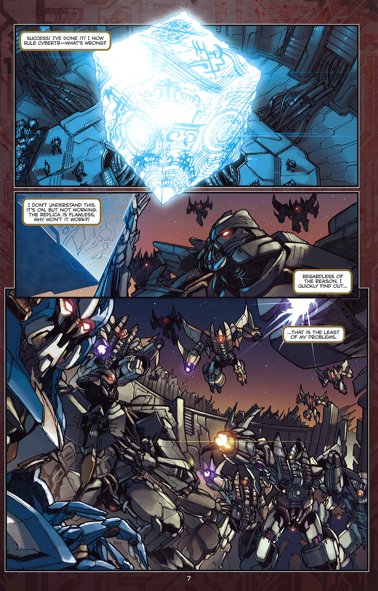 Read online Transformers: The Reign of Starscream comic -  Issue #5 - 10