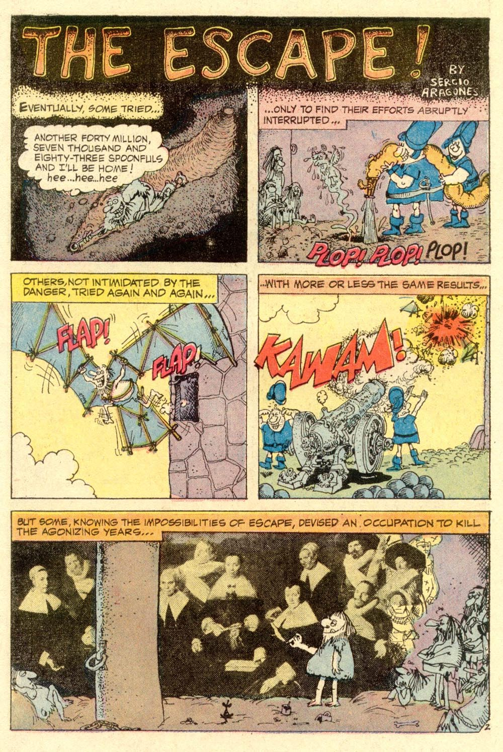 Read online Plop! comic -  Issue #1 - 6