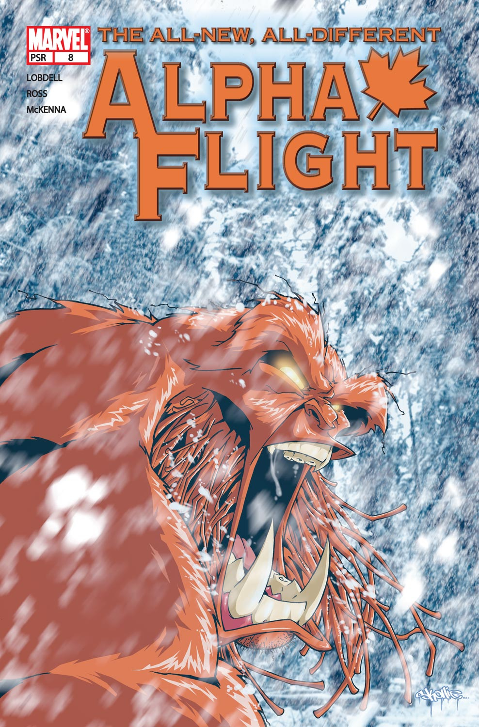 Alpha Flight (2004) 8 Page 1
