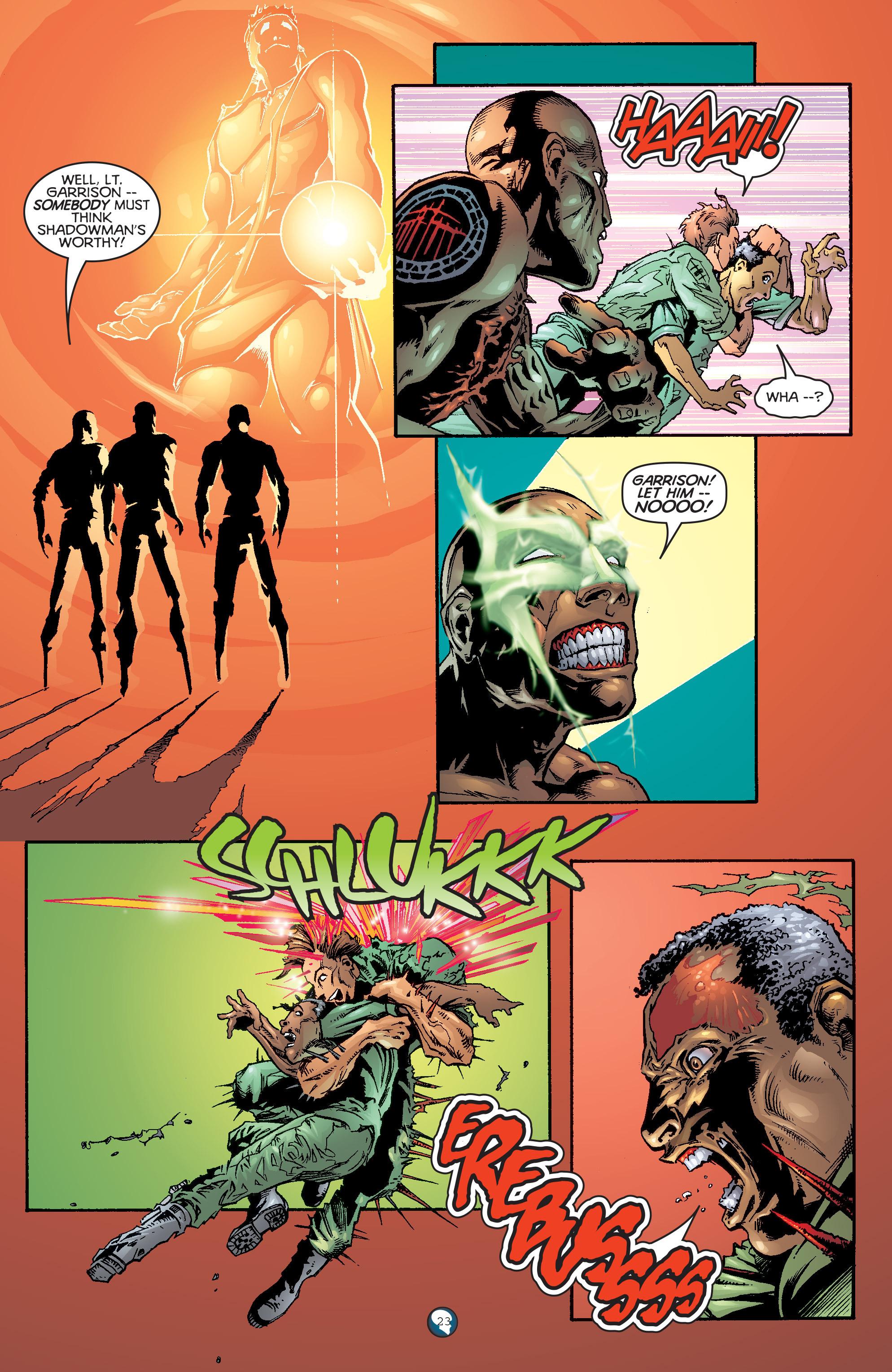 Read online Shadowman (1997) comic -  Issue #20 - 17