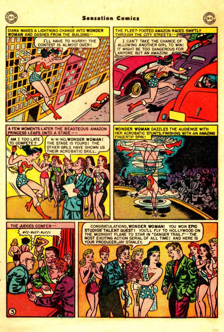 Read online Sensation (Mystery) Comics comic -  Issue #88 - 4