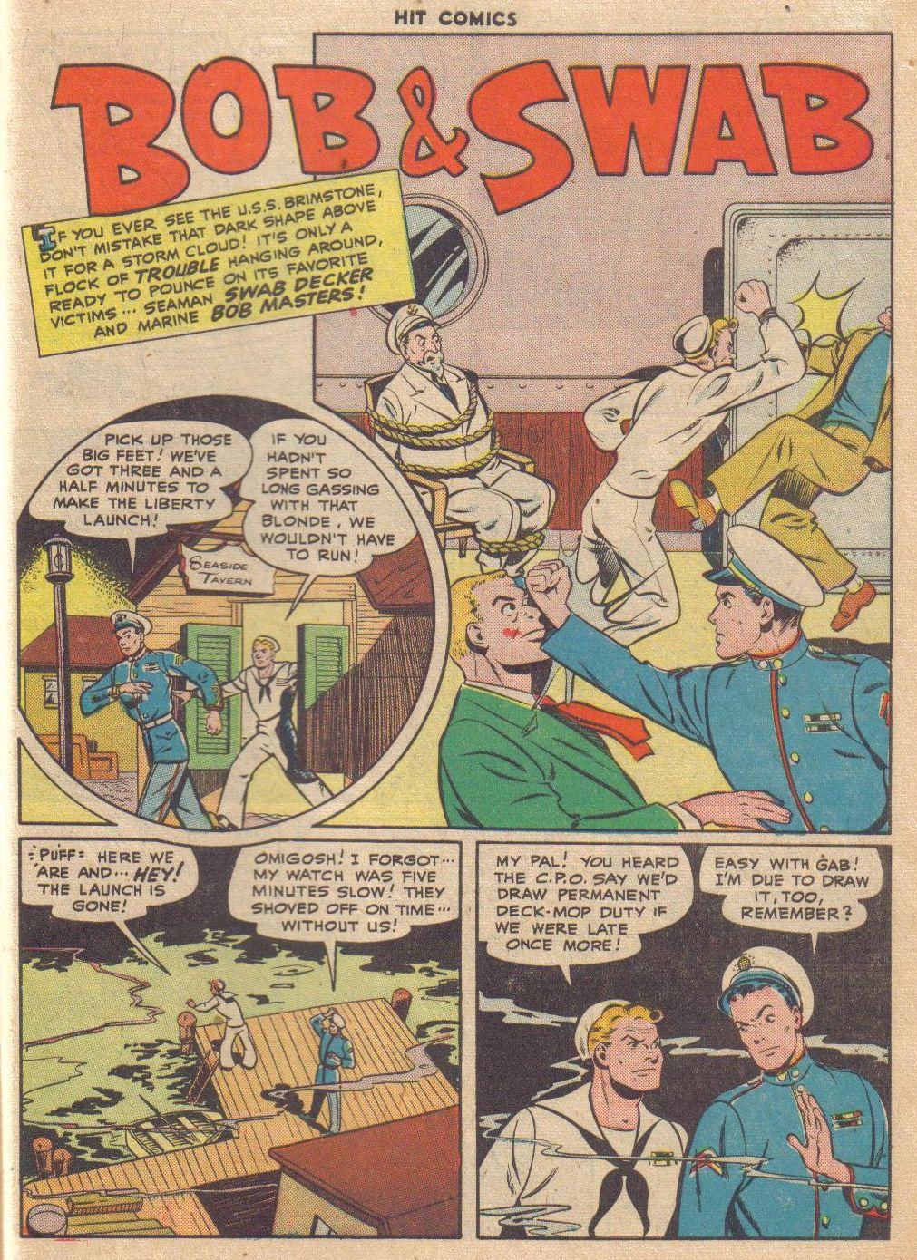 Read online Hit Comics comic -  Issue #46 - 45