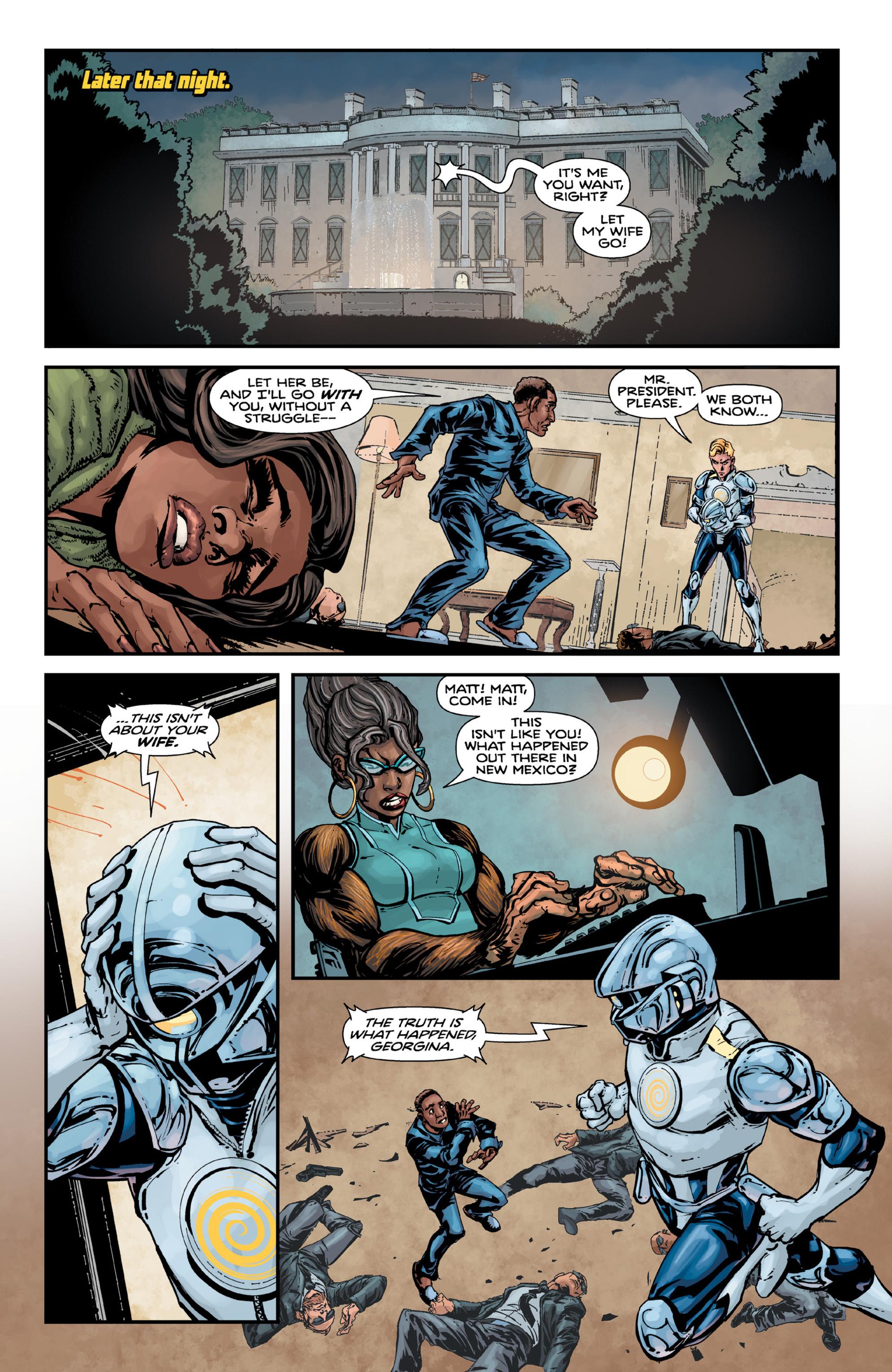 Read online Brain Boy:  The Men from G.E.S.T.A.L.T. comic -  Issue # TPB - 91