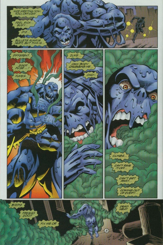 Read online Sludge comic -  Issue #10 - 11