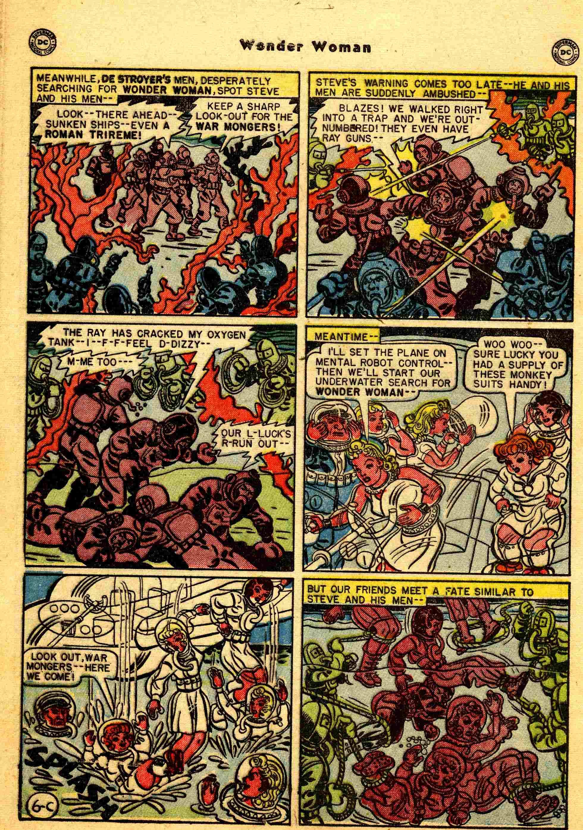 Read online Wonder Woman (1942) comic -  Issue #44 - 31