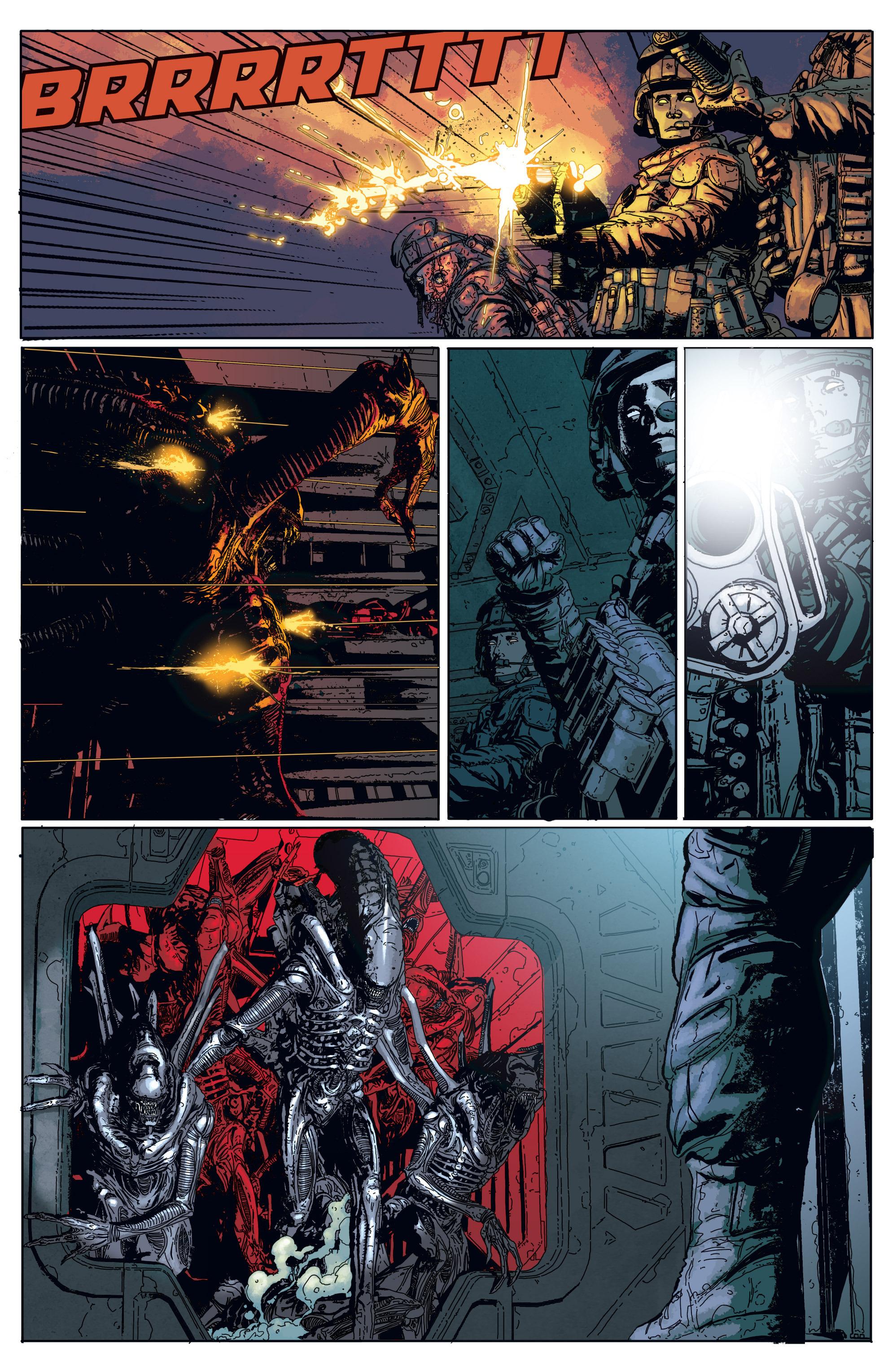 Read online Aliens: Defiance comic -  Issue #1 - 16