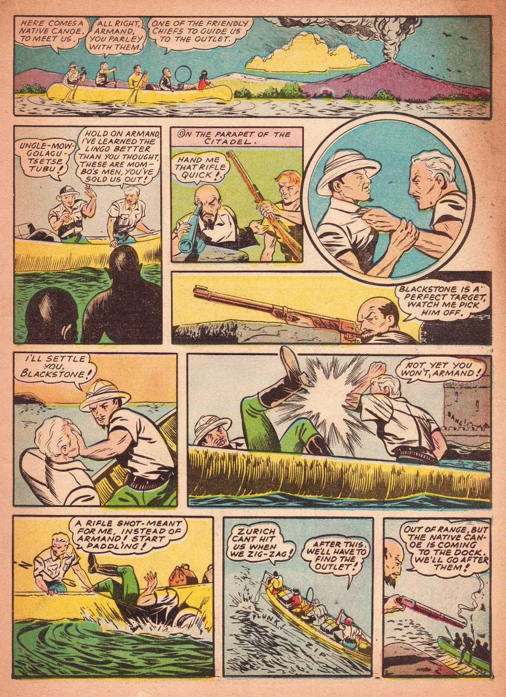 Read online Super-Magician Comics comic -  Issue #2 - 33