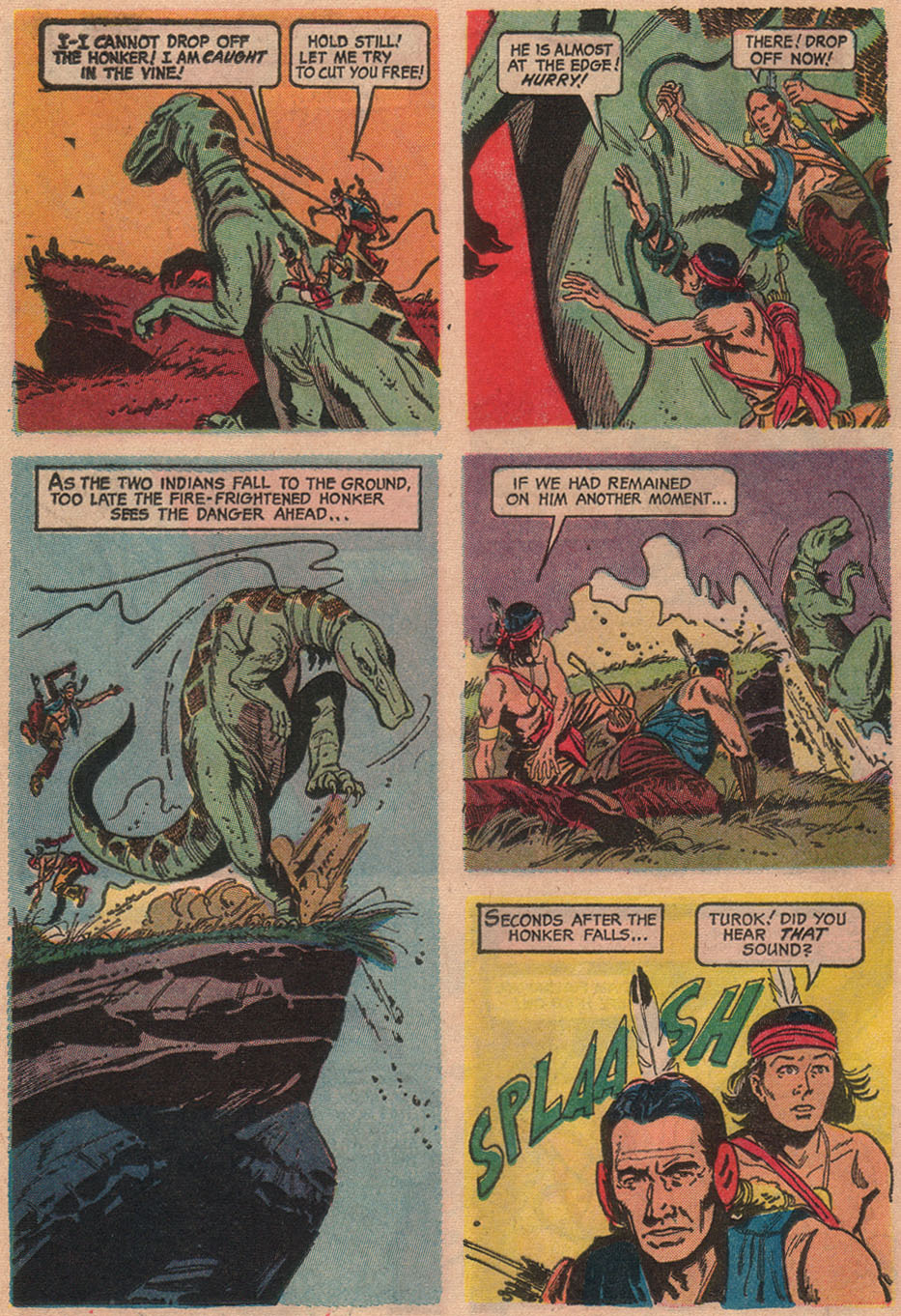 Read online Turok, Son of Stone comic -  Issue #53 - 16