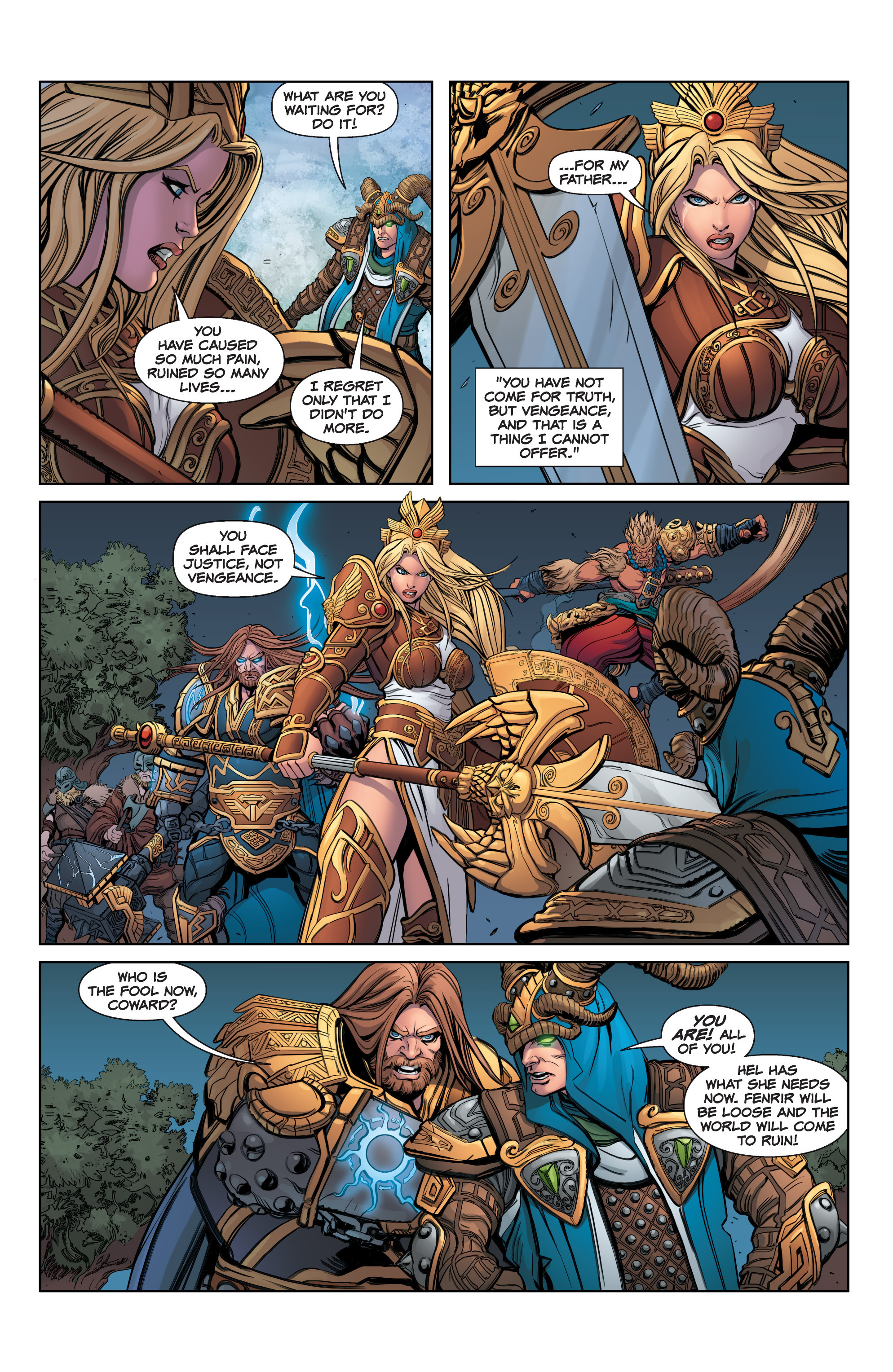 Read online SMITE: The Pantheon War comic -  Issue #3 - 19