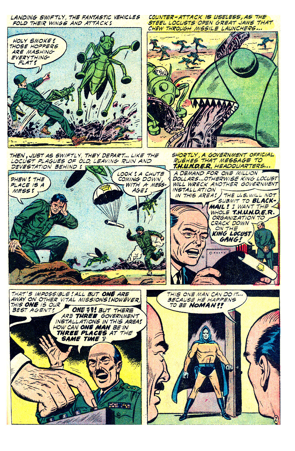T.H.U.N.D.E.R. Agents (1965) issue 17 - Page 17
