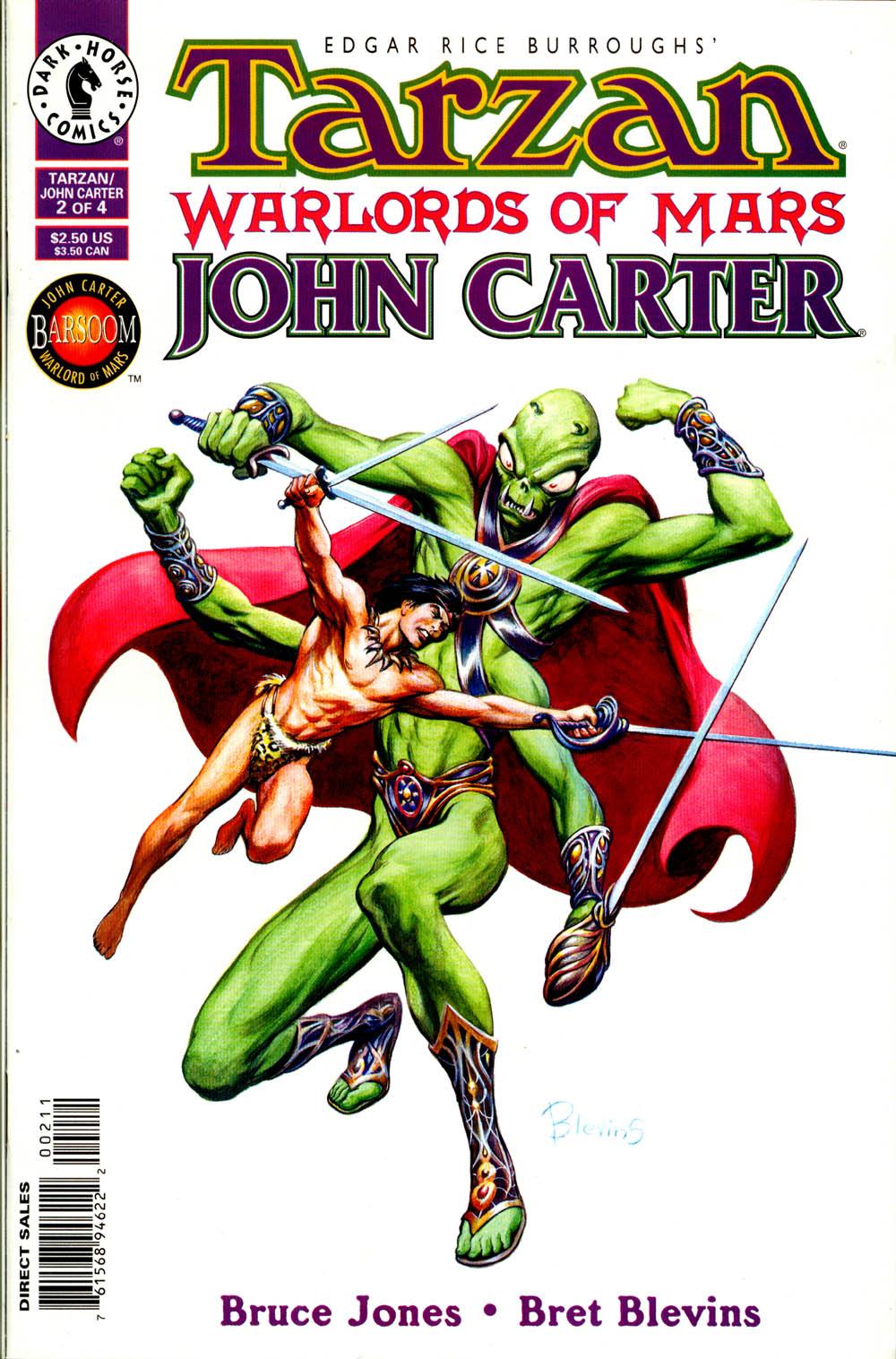 Tarzan/John Carter: Warlords of Mars 2 Page 1