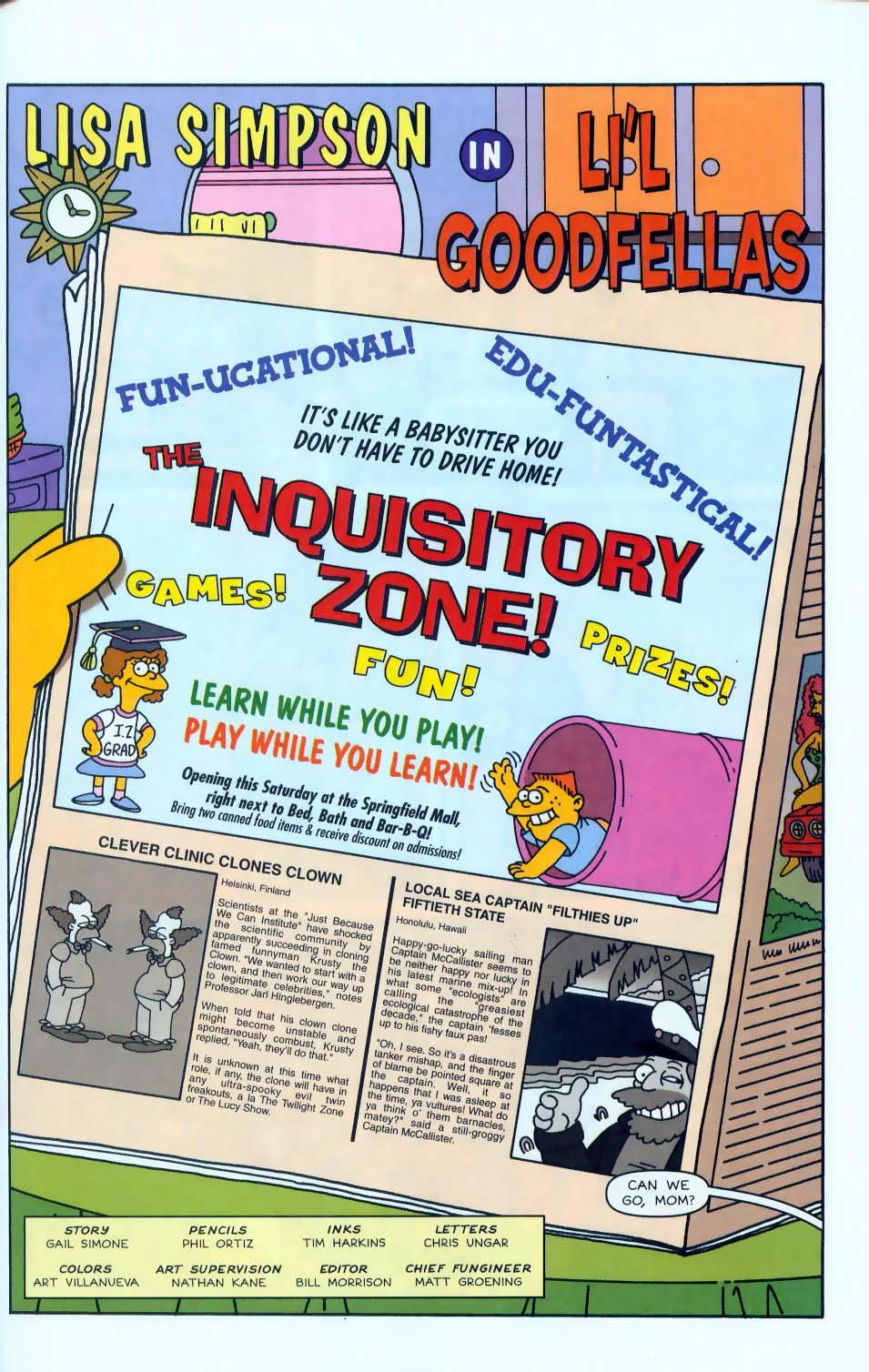 Read online Simpsons Comics comic -  Issue #50 - 64
