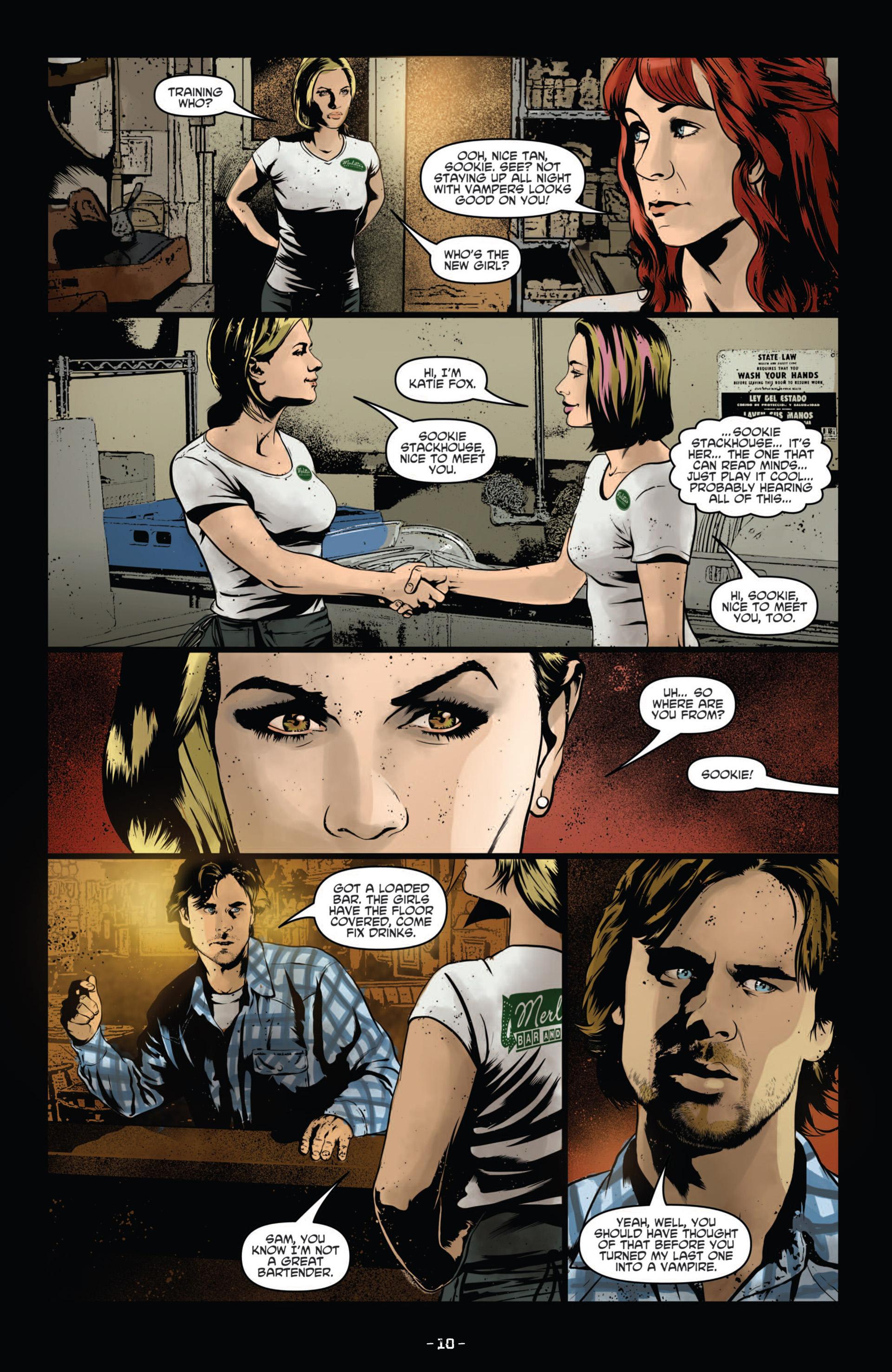 Read online True Blood (2012) comic -  Issue #11 - 13
