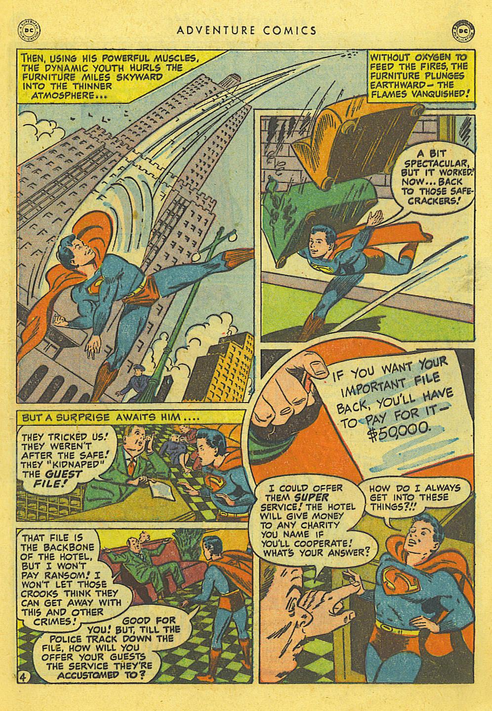 Read online Adventure Comics (1938) comic -  Issue #127 - 21